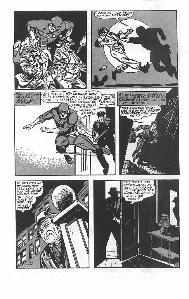 Read online Golden-Age Men of Mystery comic -  Issue #3 - 4