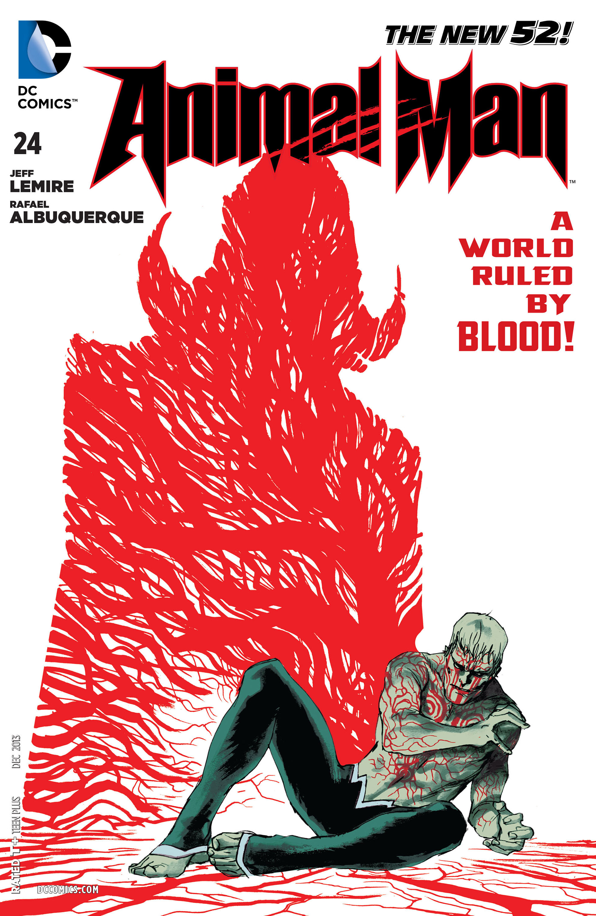Read online Animal Man (2011) comic -  Issue #24 - 1