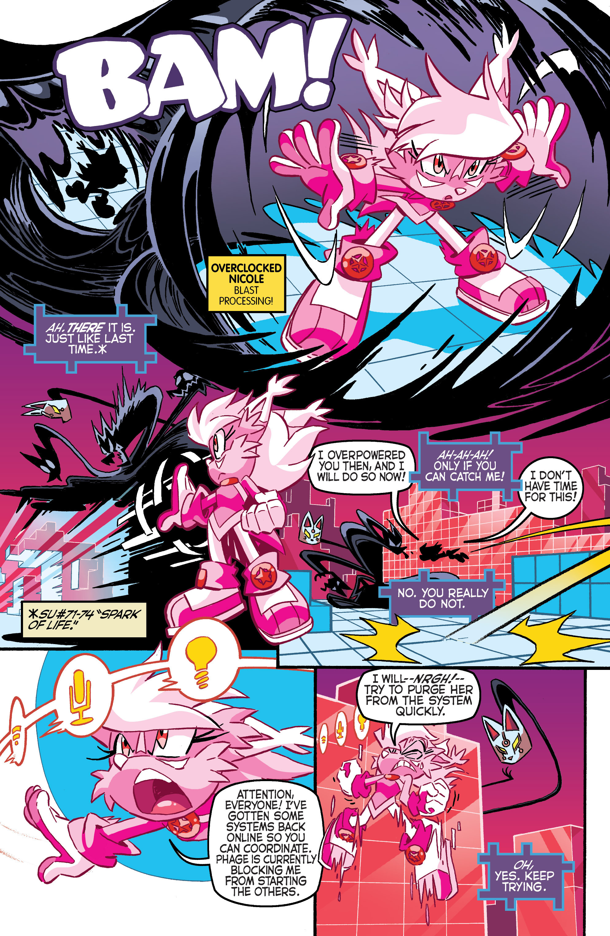 Read online Sonic The Hedgehog comic -  Issue #284 - 18