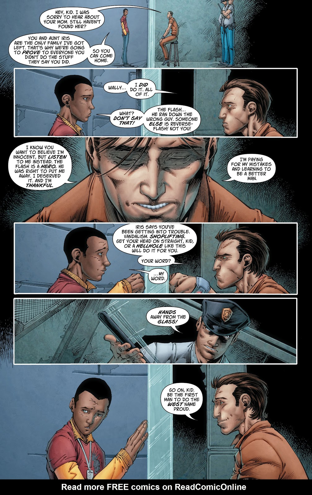Read online The Flash (2011) comic -  Issue # _TPB 6 (Part 2) - 33