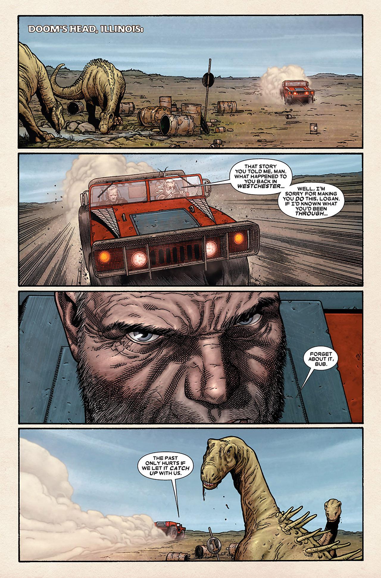 Read online Wolverine: Old Man Logan comic -  Issue # Full - 113