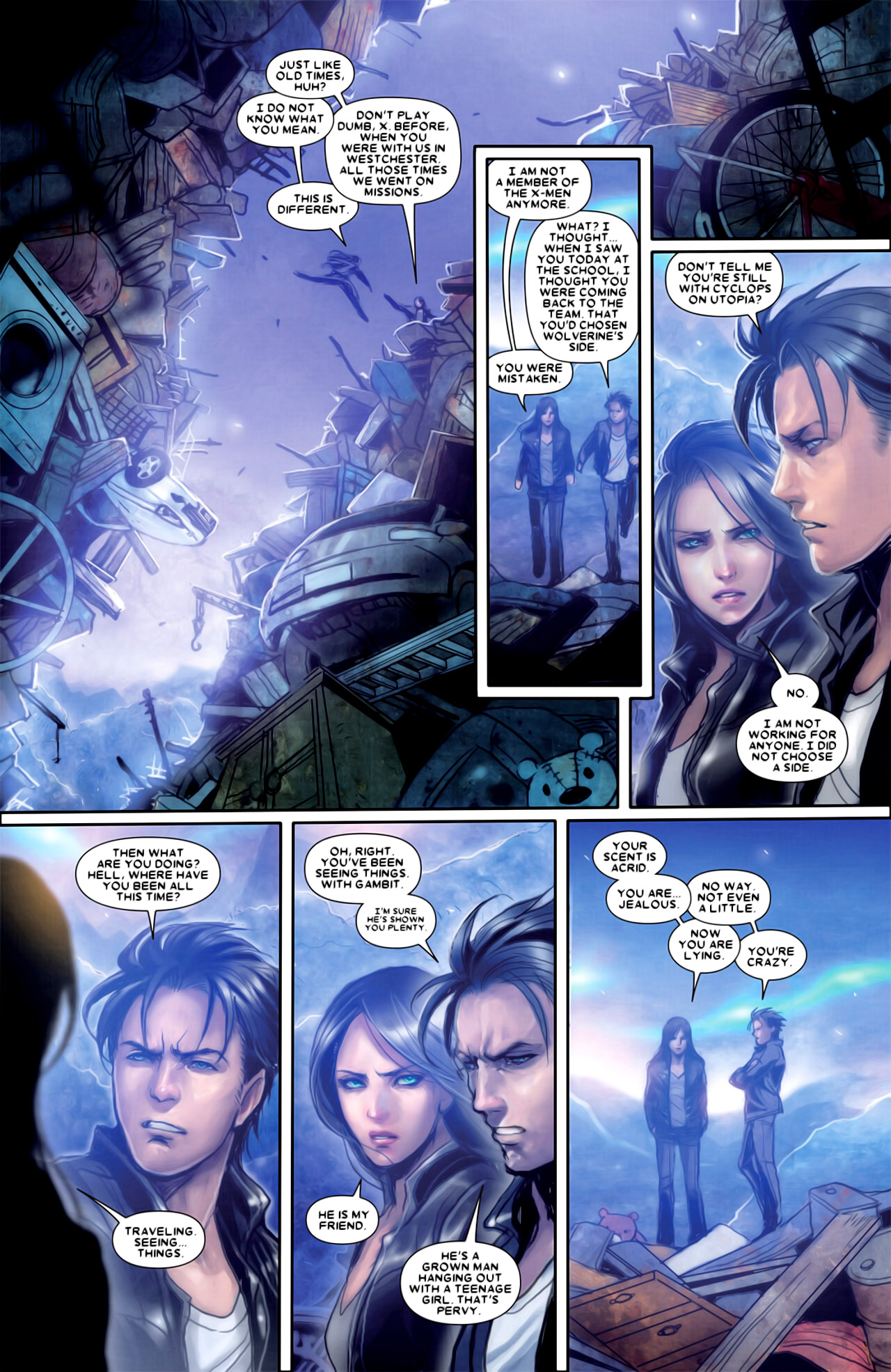 Read online X-23 (2010) comic -  Issue #18 - 14