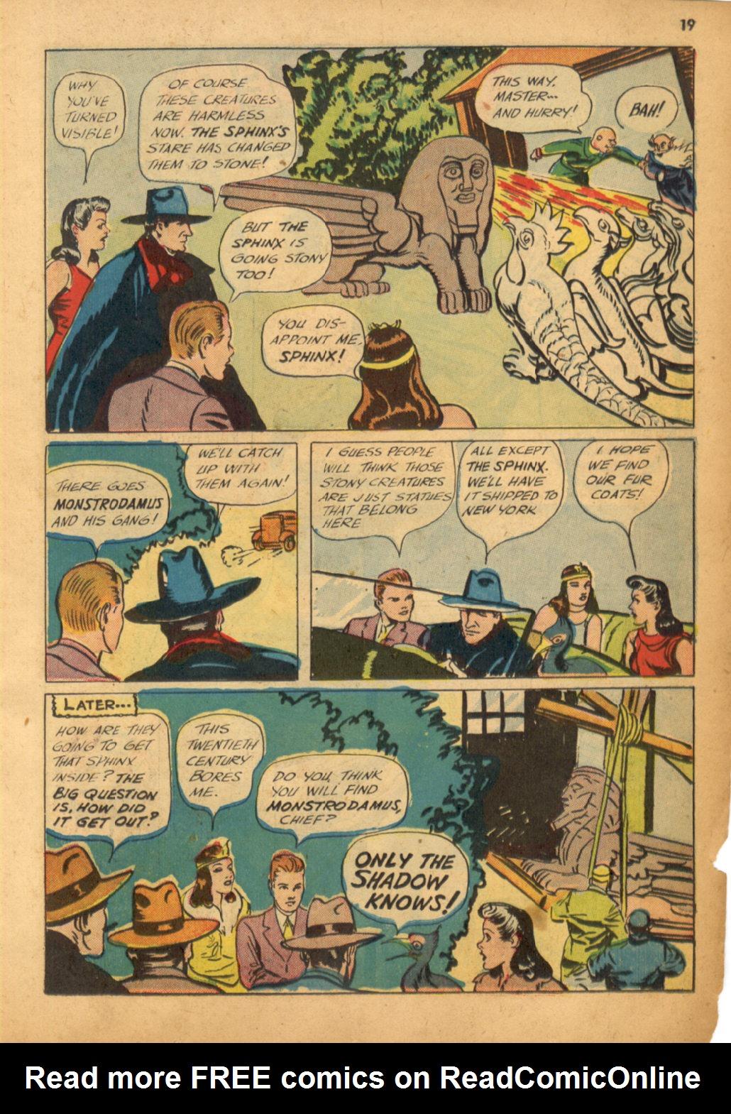 Read online Shadow Comics comic -  Issue #32 - 20