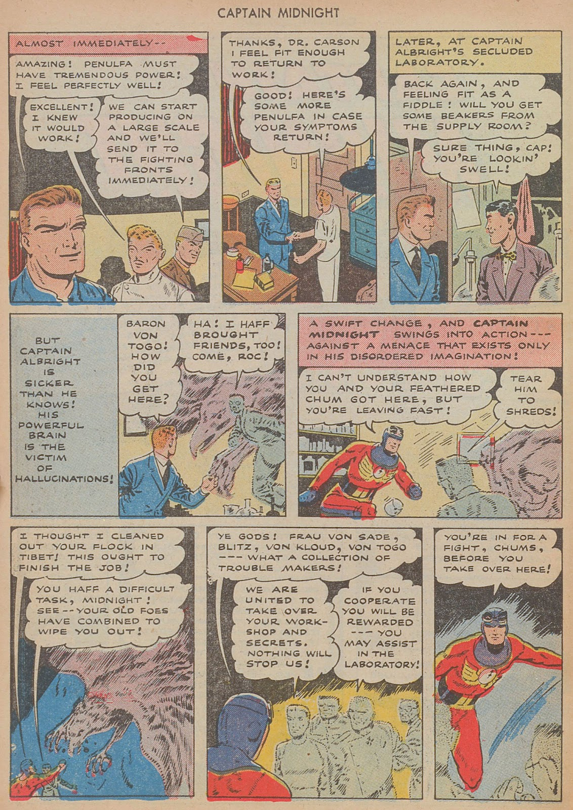 Captain Midnight (1942) issue 29 - Page 26