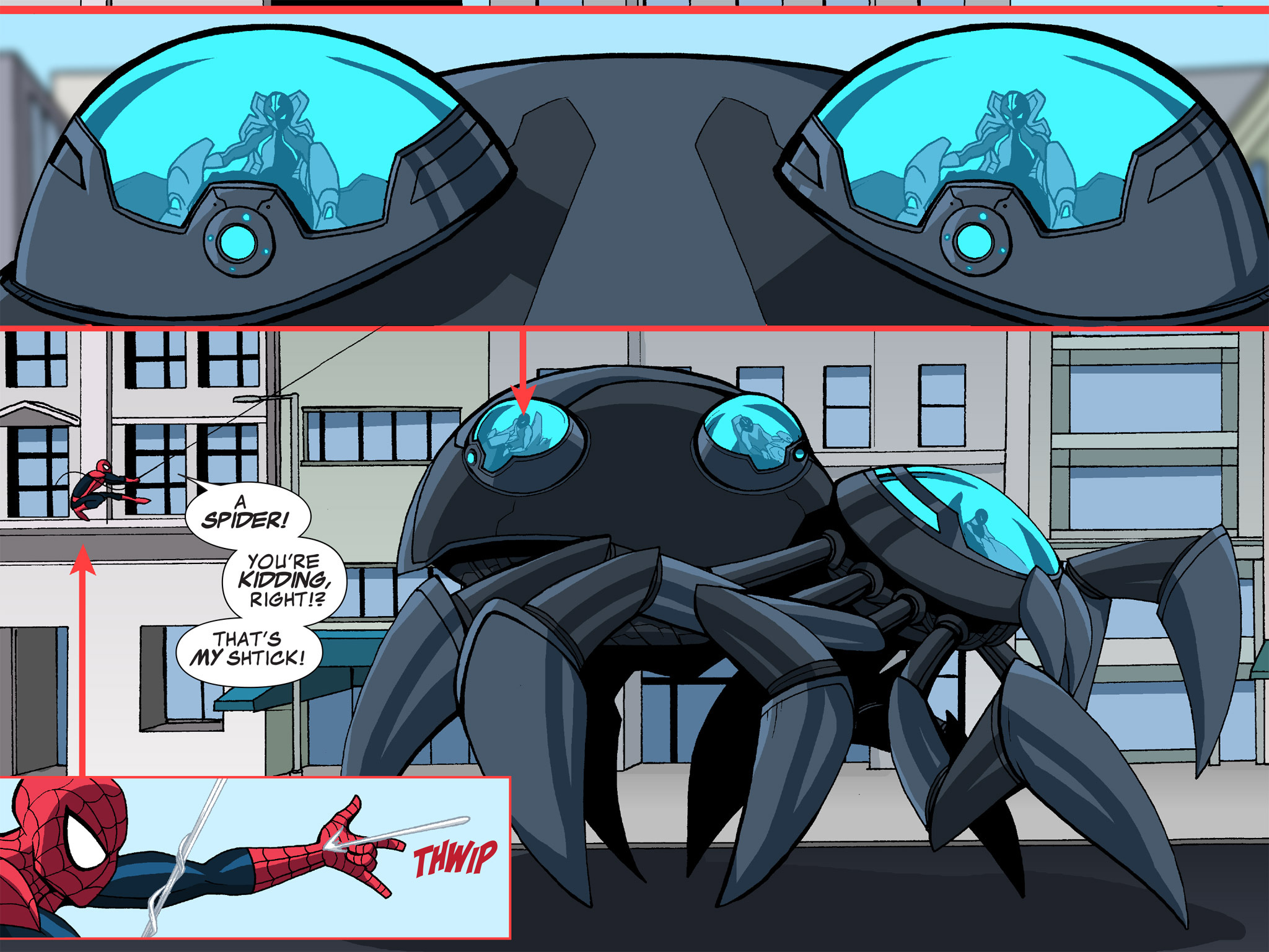 Read online Ultimate Spider-Man (Infinite Comics) (2015) comic -  Issue #13 - 23