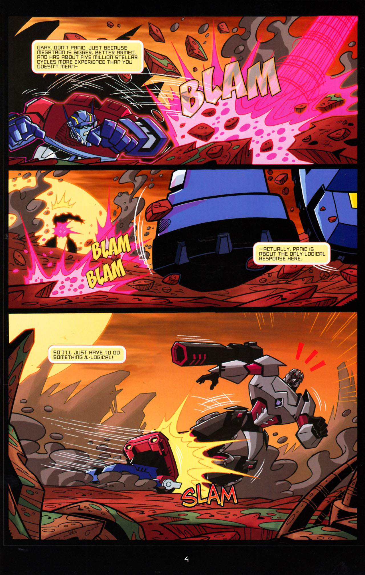 Read online Transformers Animated: The Arrival comic -  Issue #5 - 8