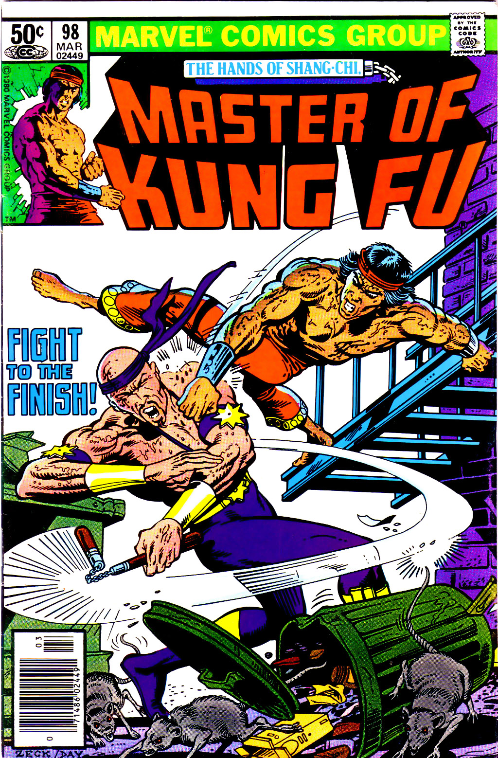 Master of Kung Fu (1974) issue 98 - Page 1
