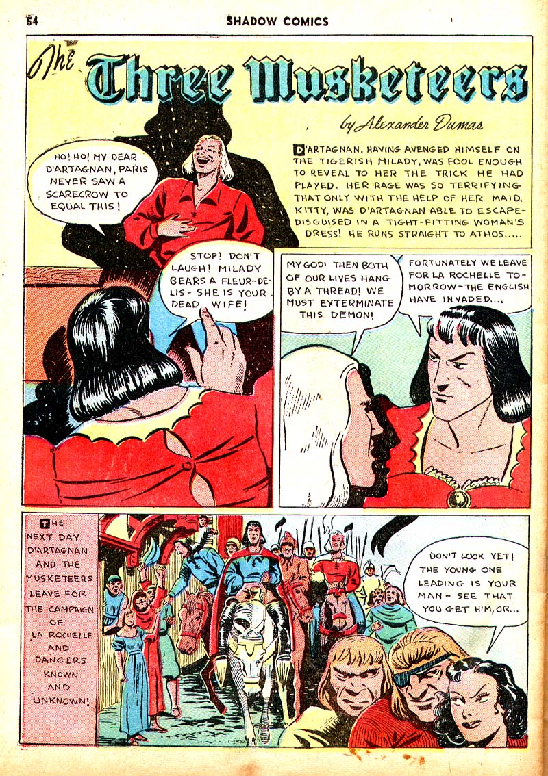 Read online Shadow Comics comic -  Issue #7 - 47