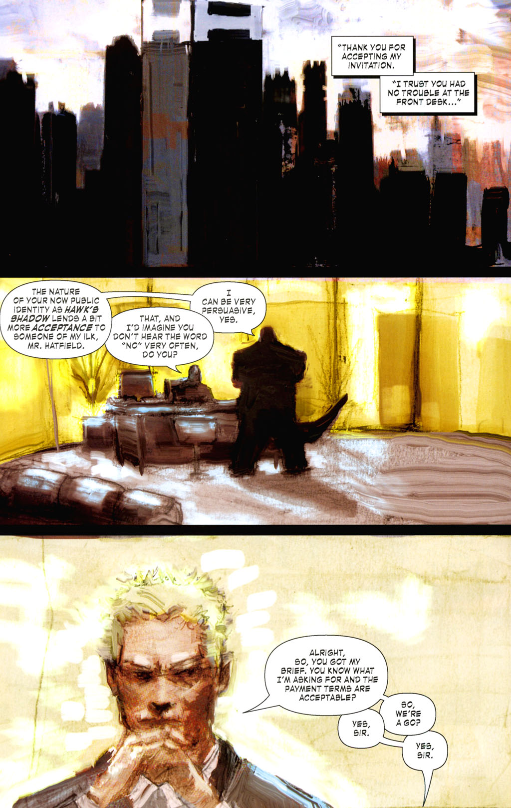 Read online ShadowHawk (2005) comic -  Issue #8 - 10