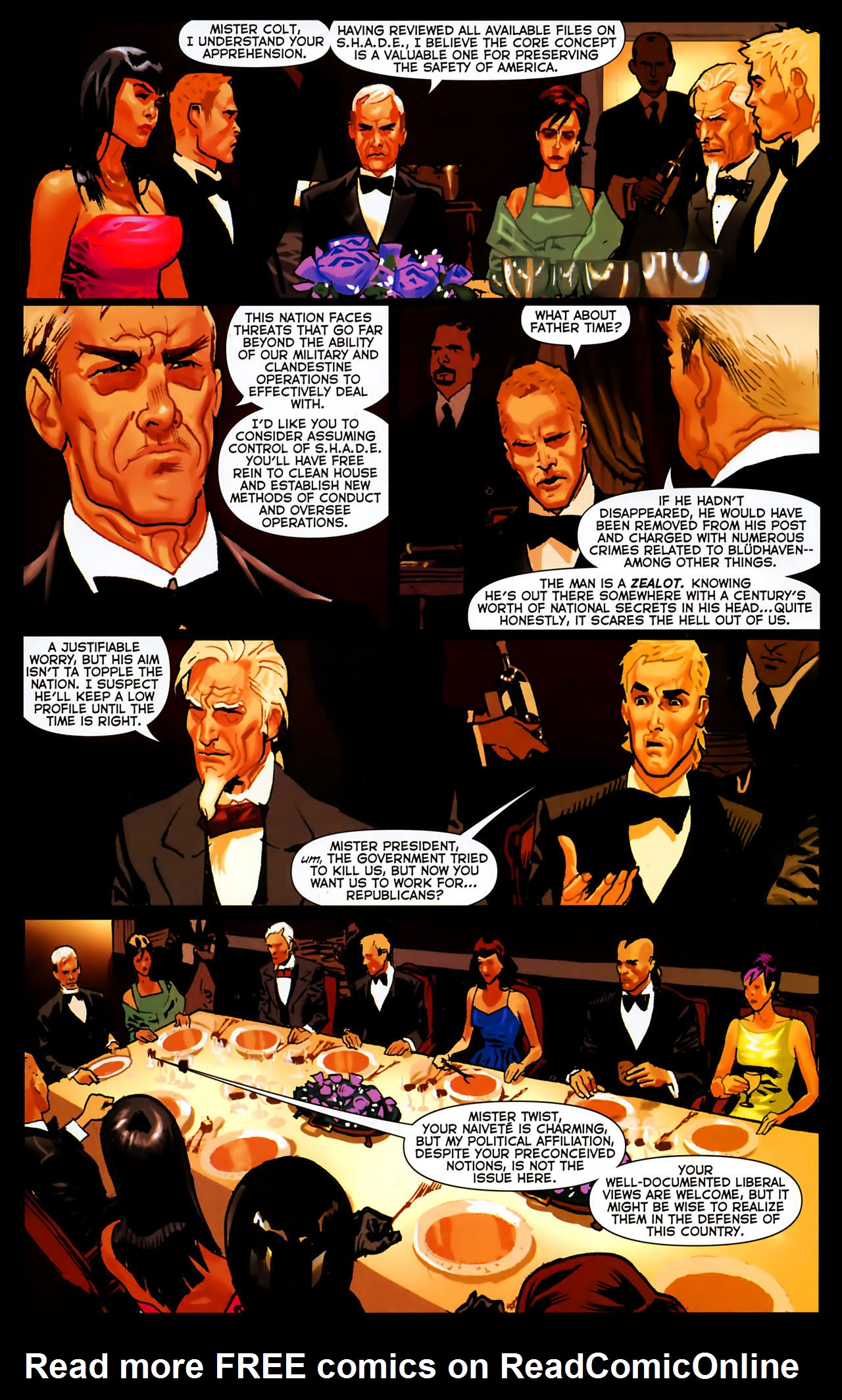 Read online Uncle Sam and the Freedom Fighters (2006) comic -  Issue #8 - 19