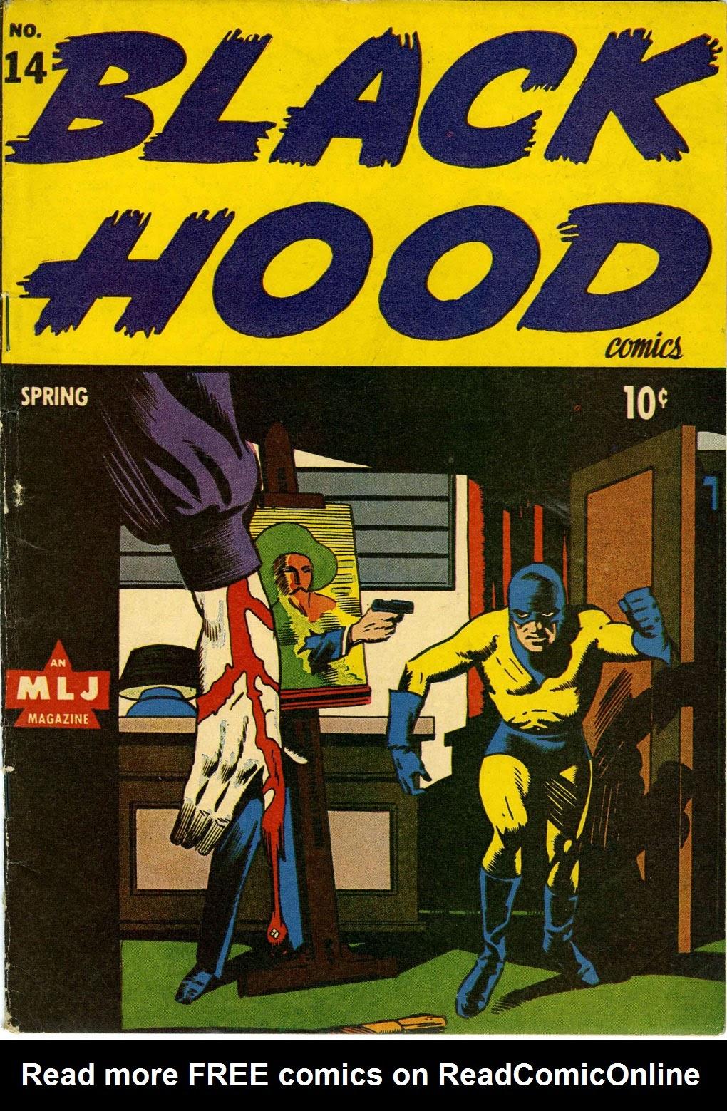 Black Hood Comics 14 Page 1