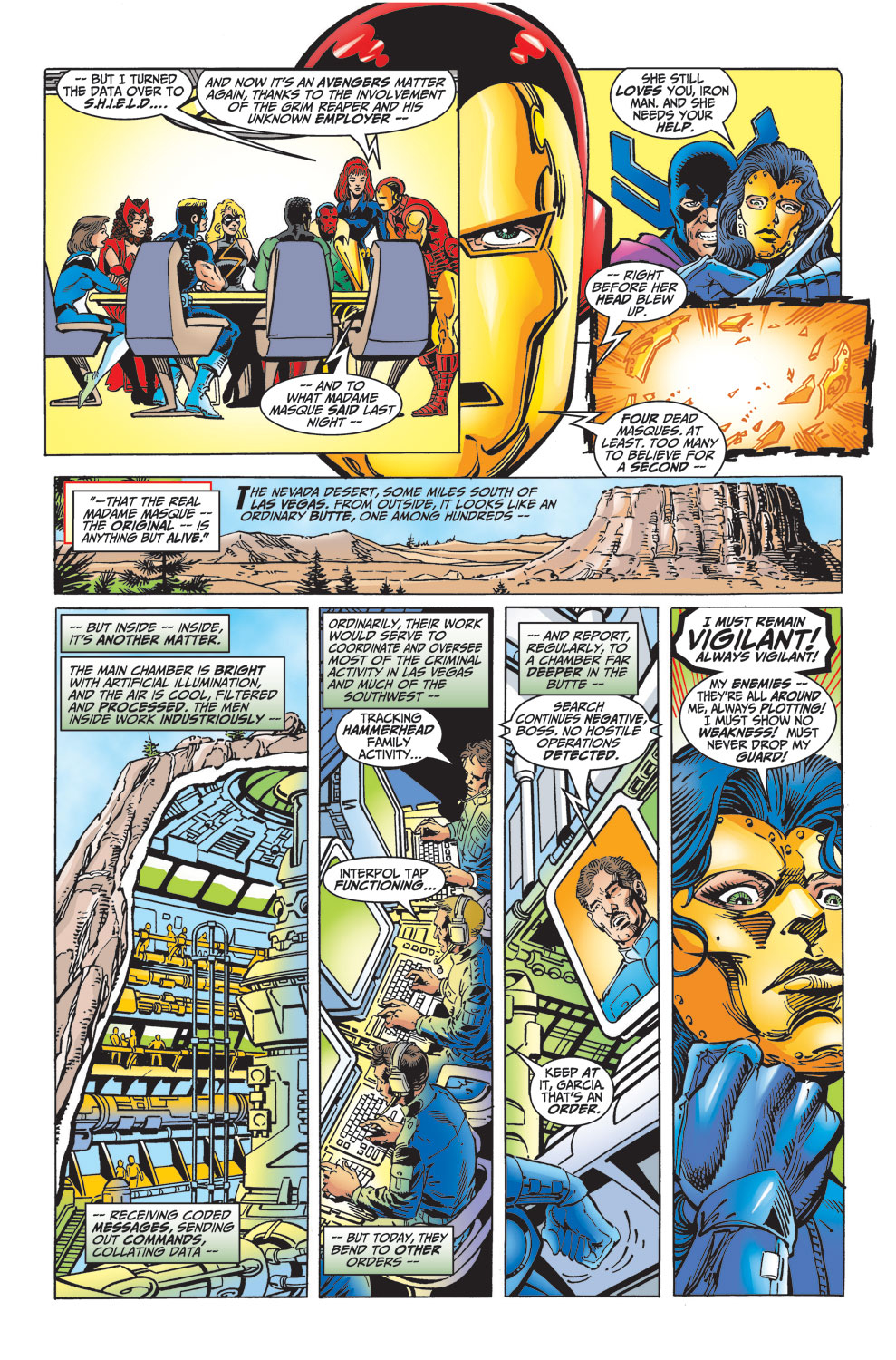 Read online Avengers (1998) comic -  Issue #32 - 11