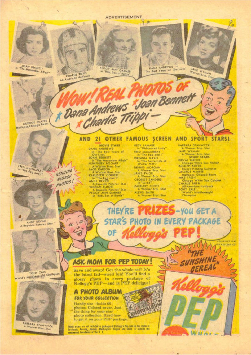 Read online Sensation (Mystery) Comics comic -  Issue #70 - 26
