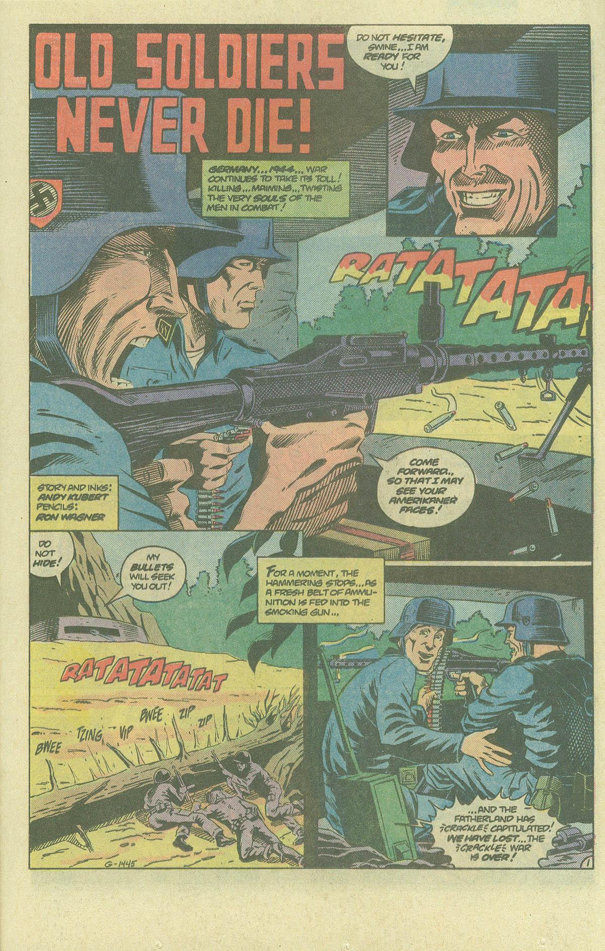 Read online Sgt. Rock comic -  Issue #393 - 16