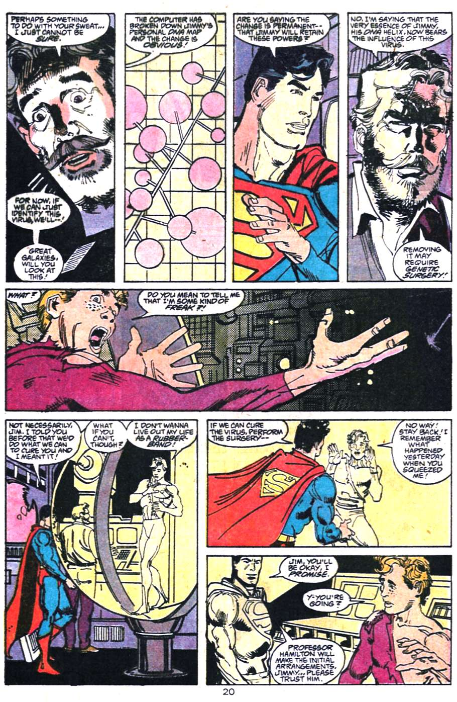 Read online Adventures of Superman (1987) comic -  Issue #458 - 21
