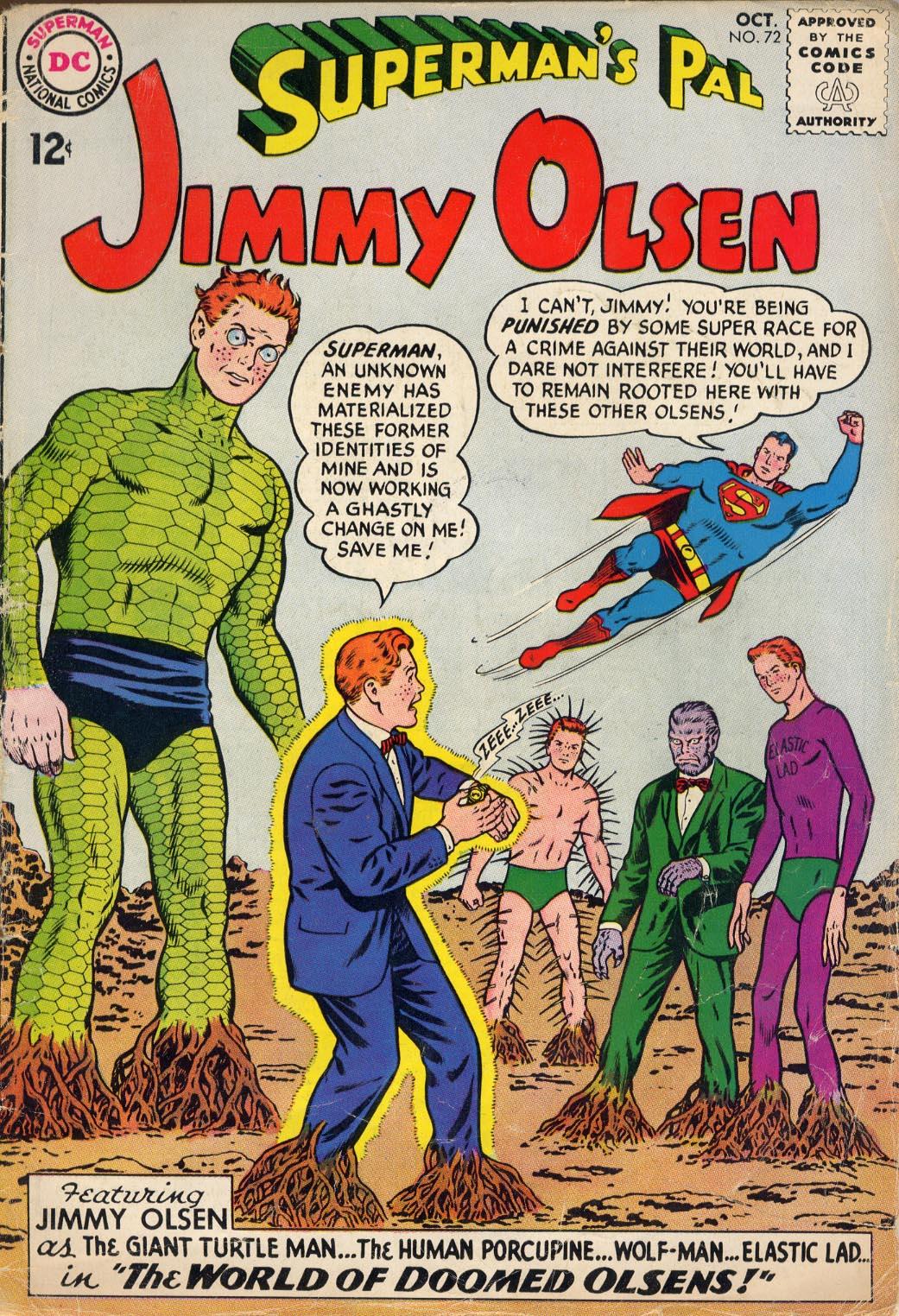 Supermans Pal Jimmy Olsen (1954) 72 Page 1