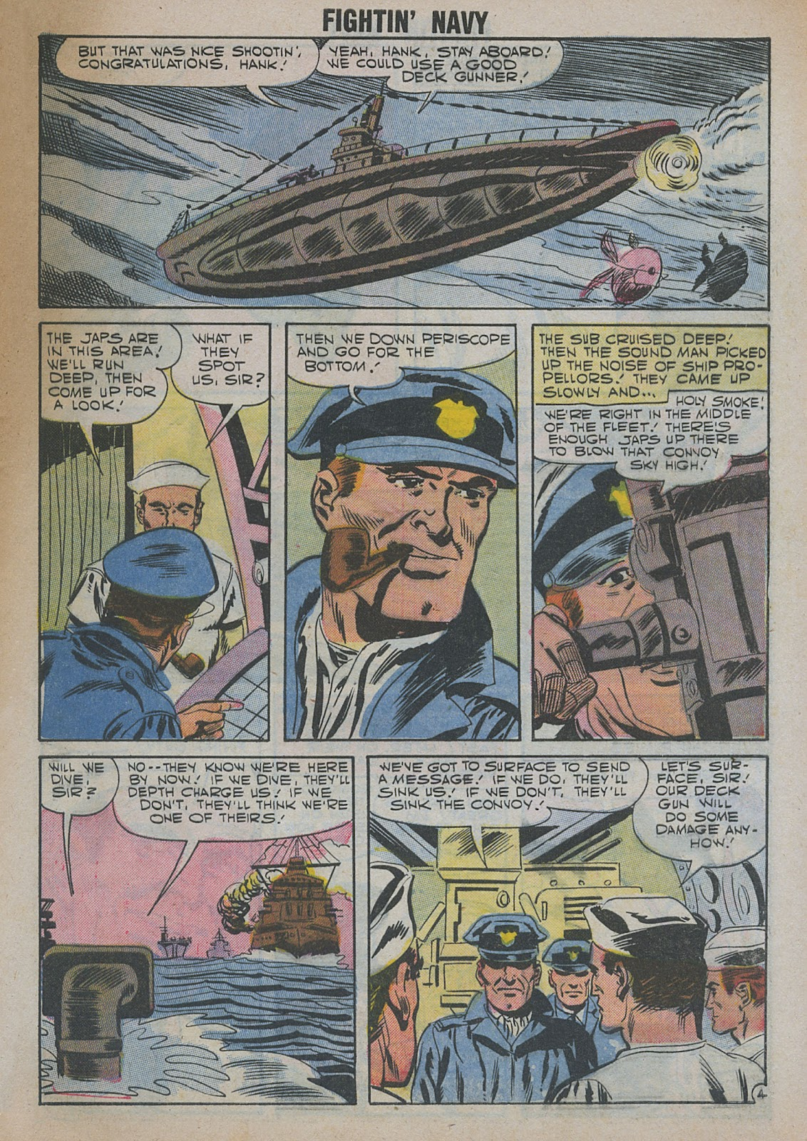 Read online Fightin' Navy comic -  Issue #82 - 57