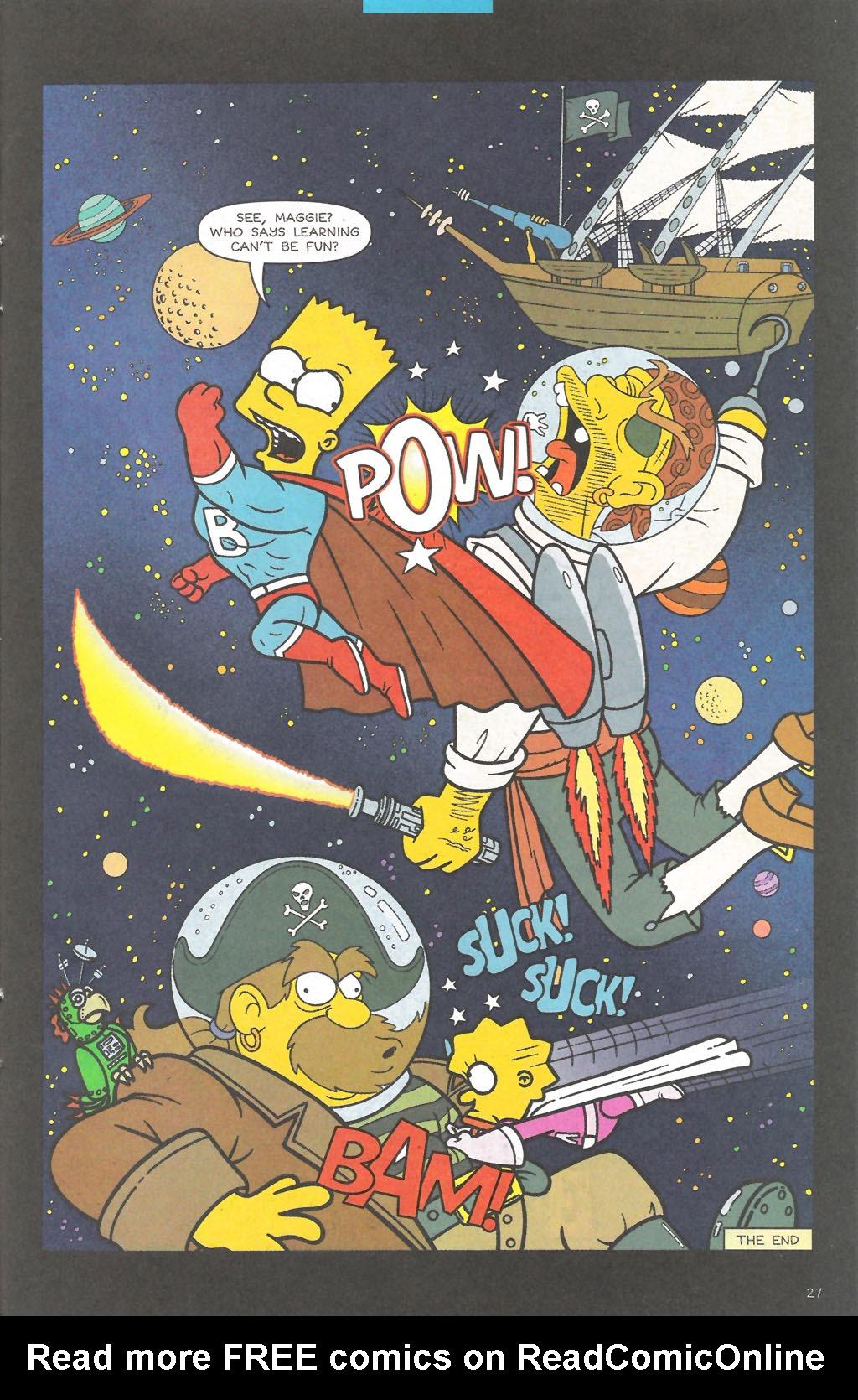 Read online Simpsons Comics comic -  Issue #111 - 28