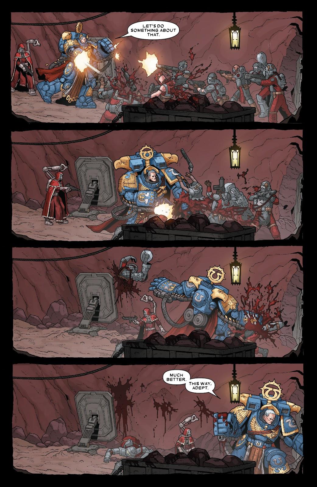Warhammer 40,000: Marneus Calgar issue 5 - Page 9