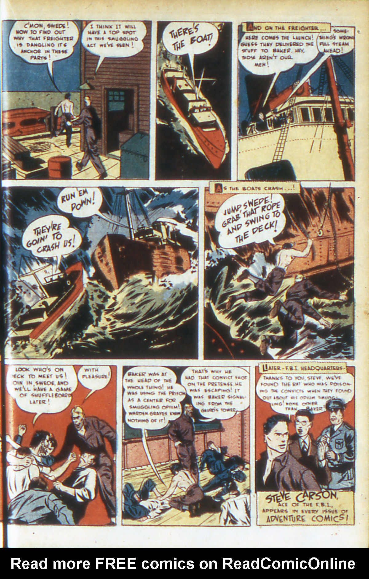 Read online Adventure Comics (1938) comic -  Issue #64 - 22