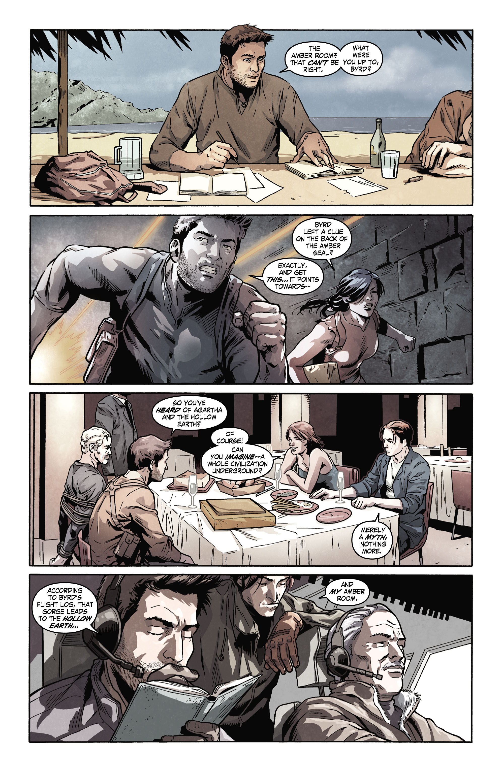 Read online Uncharted comic -  Issue #4 - 3