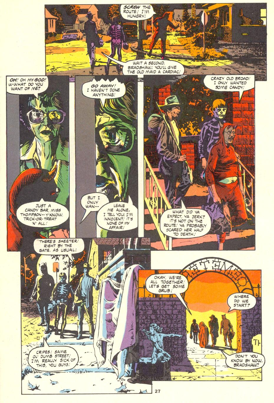 Read online Twisted Tales (1982) comic -  Issue #1 - 27