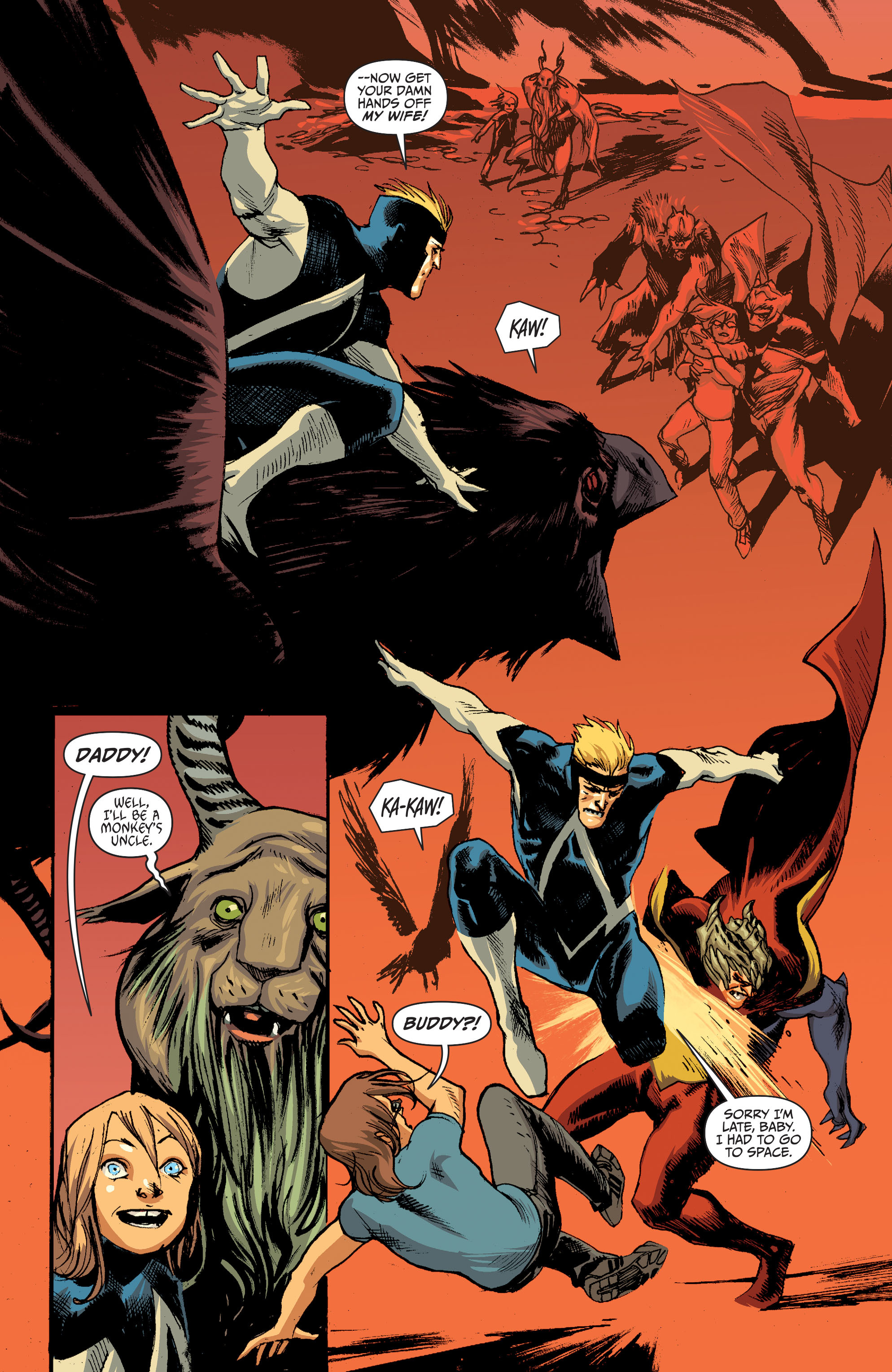 Read online Animal Man (2011) comic -  Issue #28 - 14