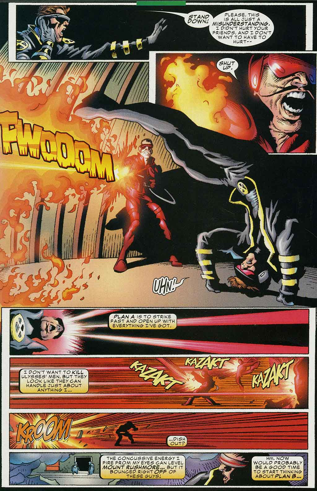 Read online Cyclops (2001) comic -  Issue #4 - 12