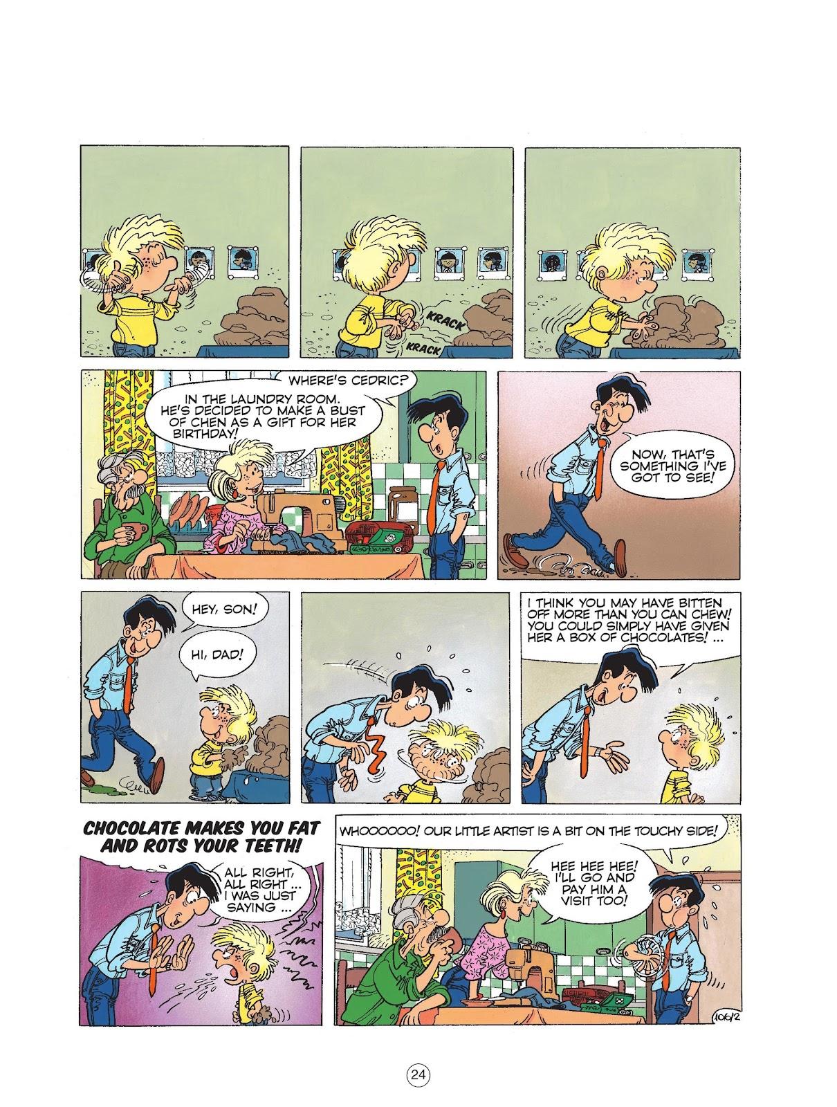 Read online Cedric comic -  Issue #6 - 26