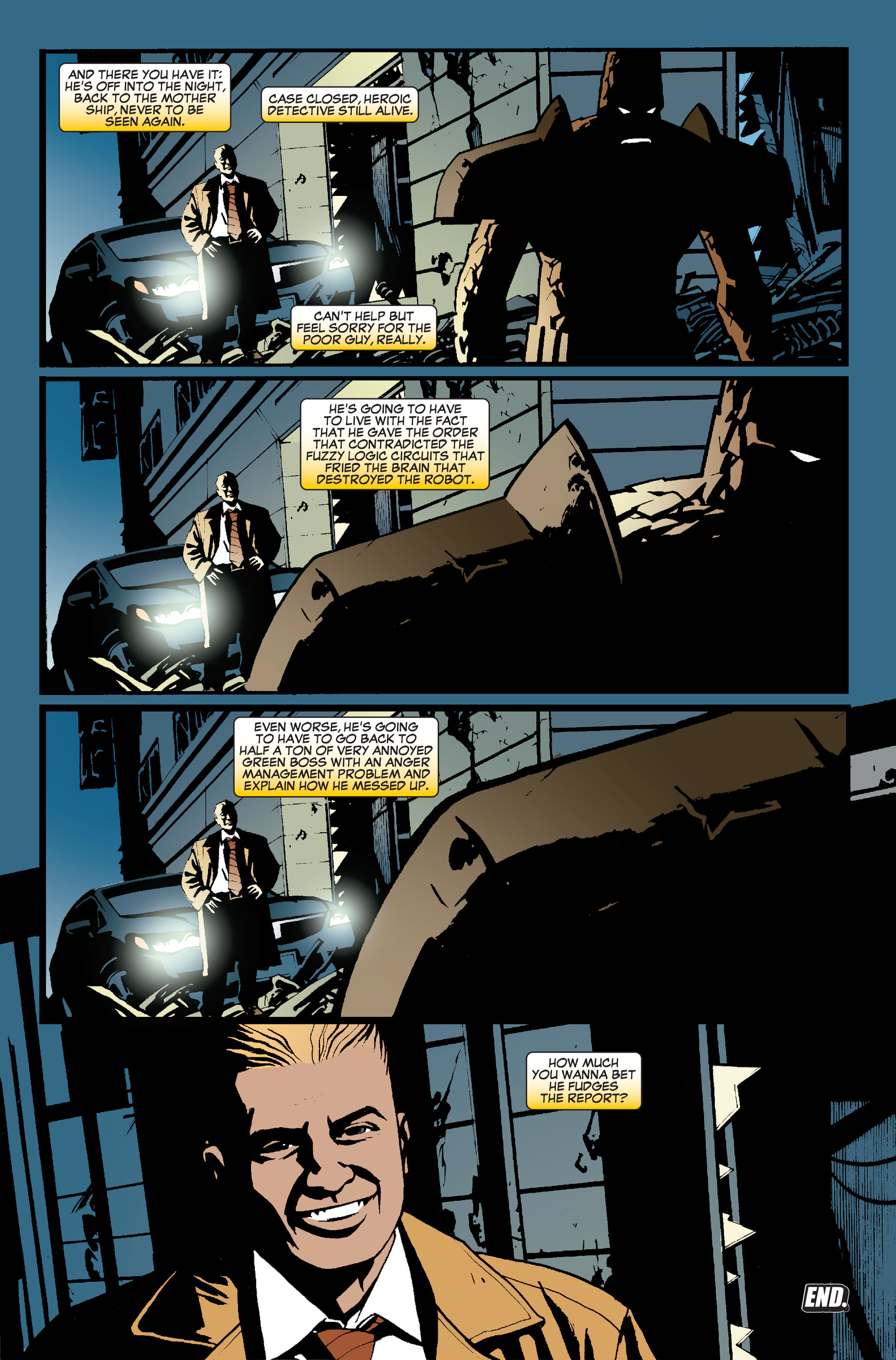 Read online World War Hulk: Front Line comic -  Issue #5 - 22