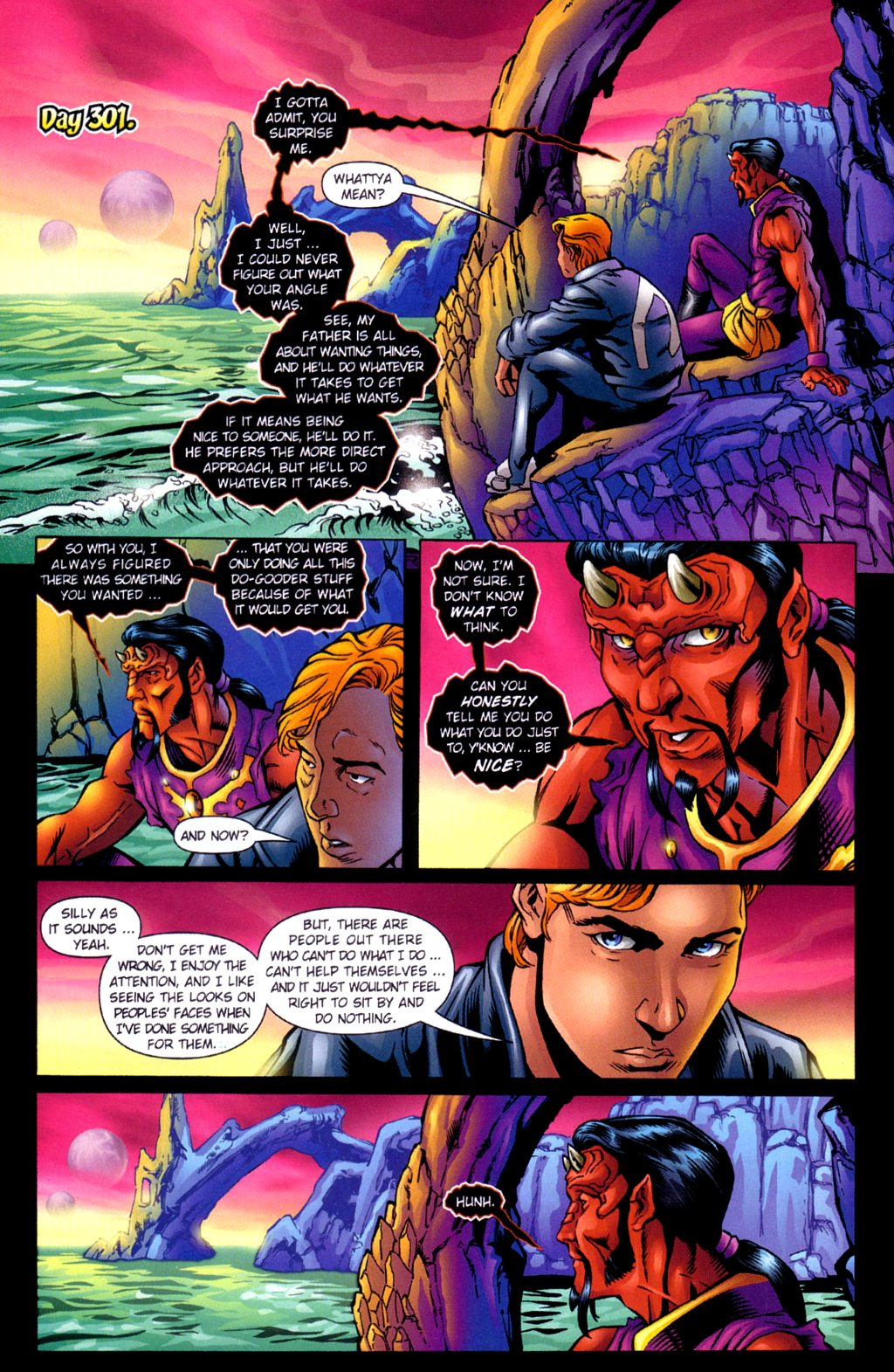 Read online Noble Causes (2002) comic -  Issue #3 - 23