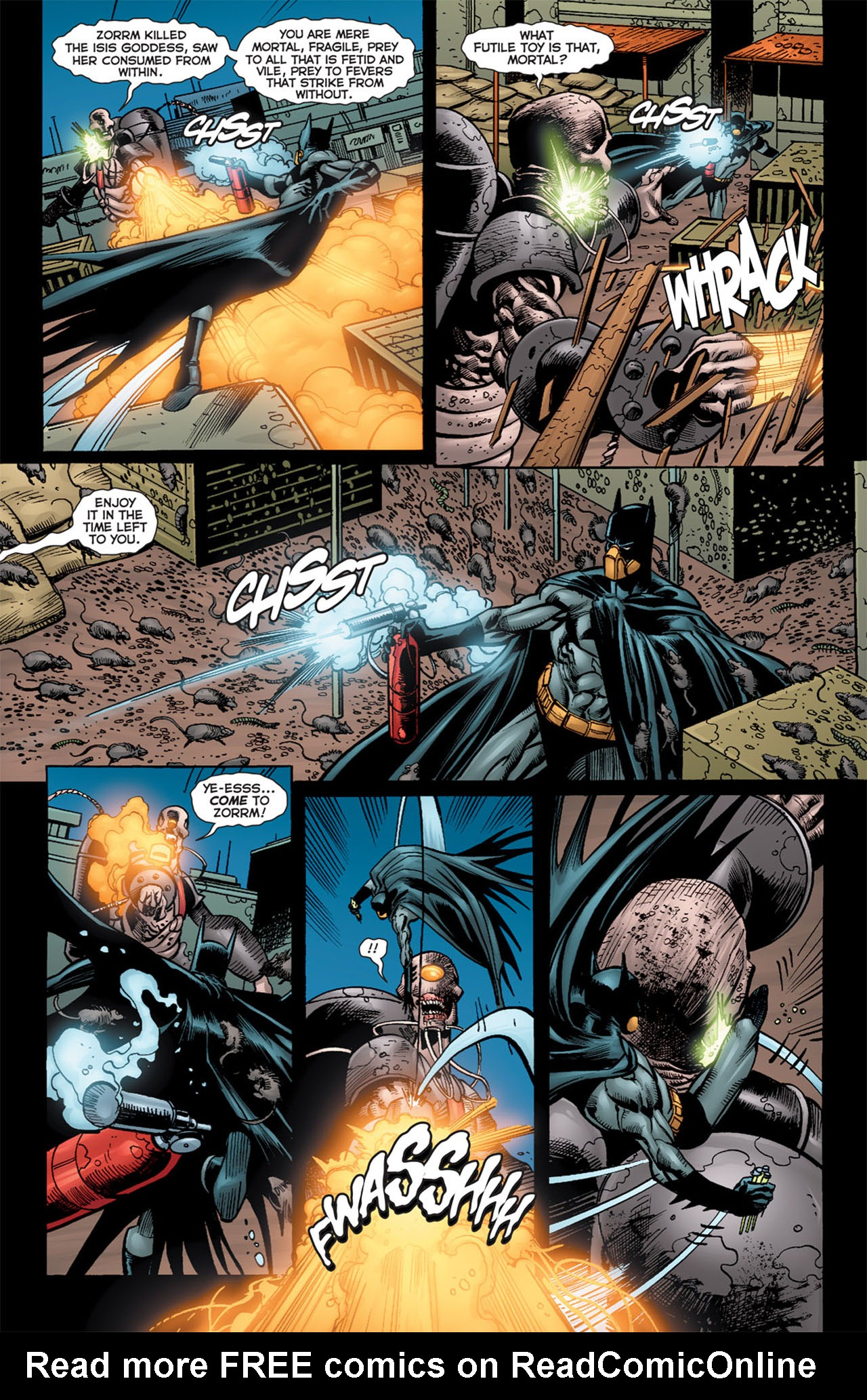 Read online 52 Aftermath: The Four Horsemen comic -  Issue #5 - 13