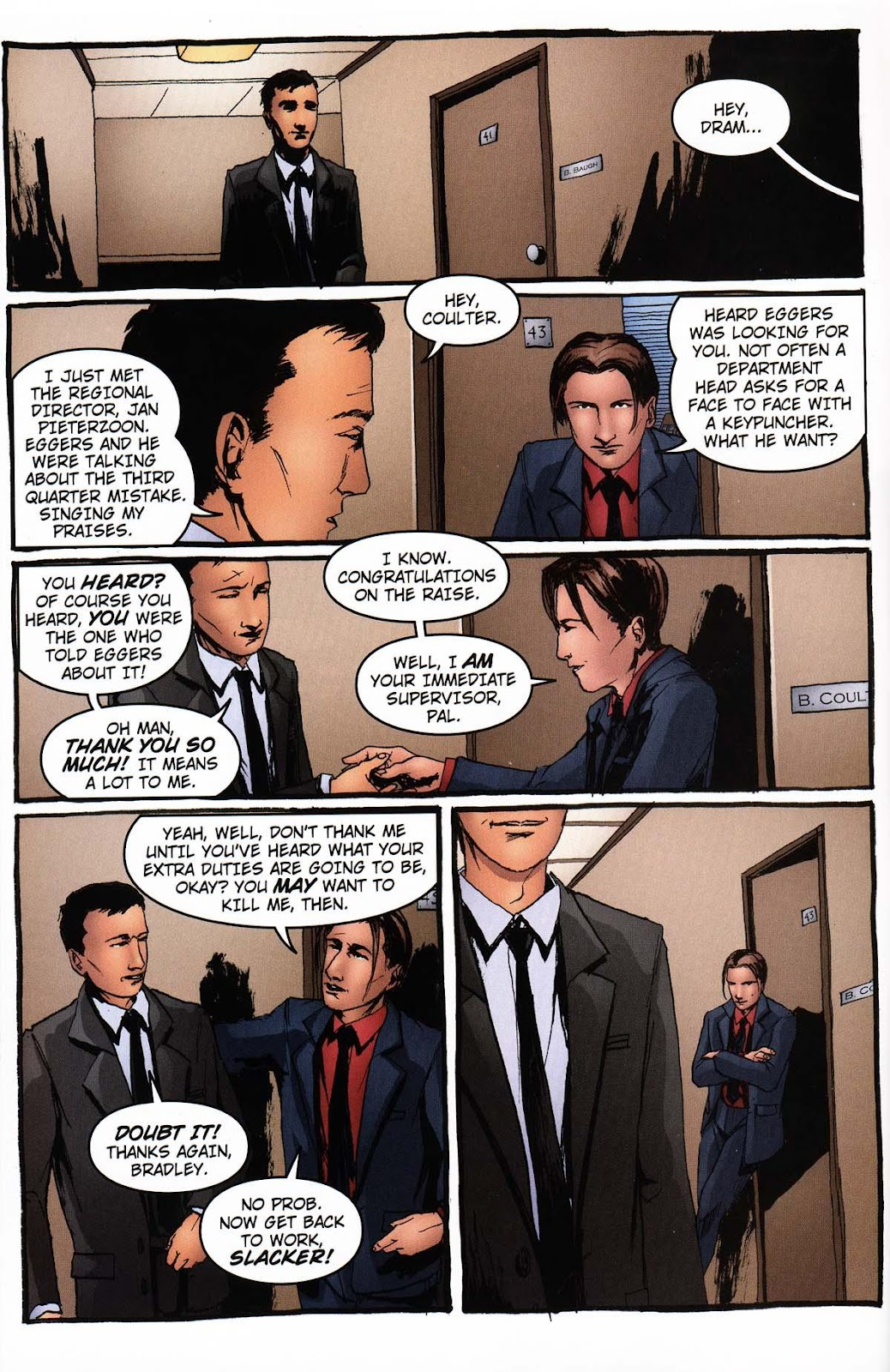 Read online Vampire the Masquerade comic -  Issue # Ventrue - 38
