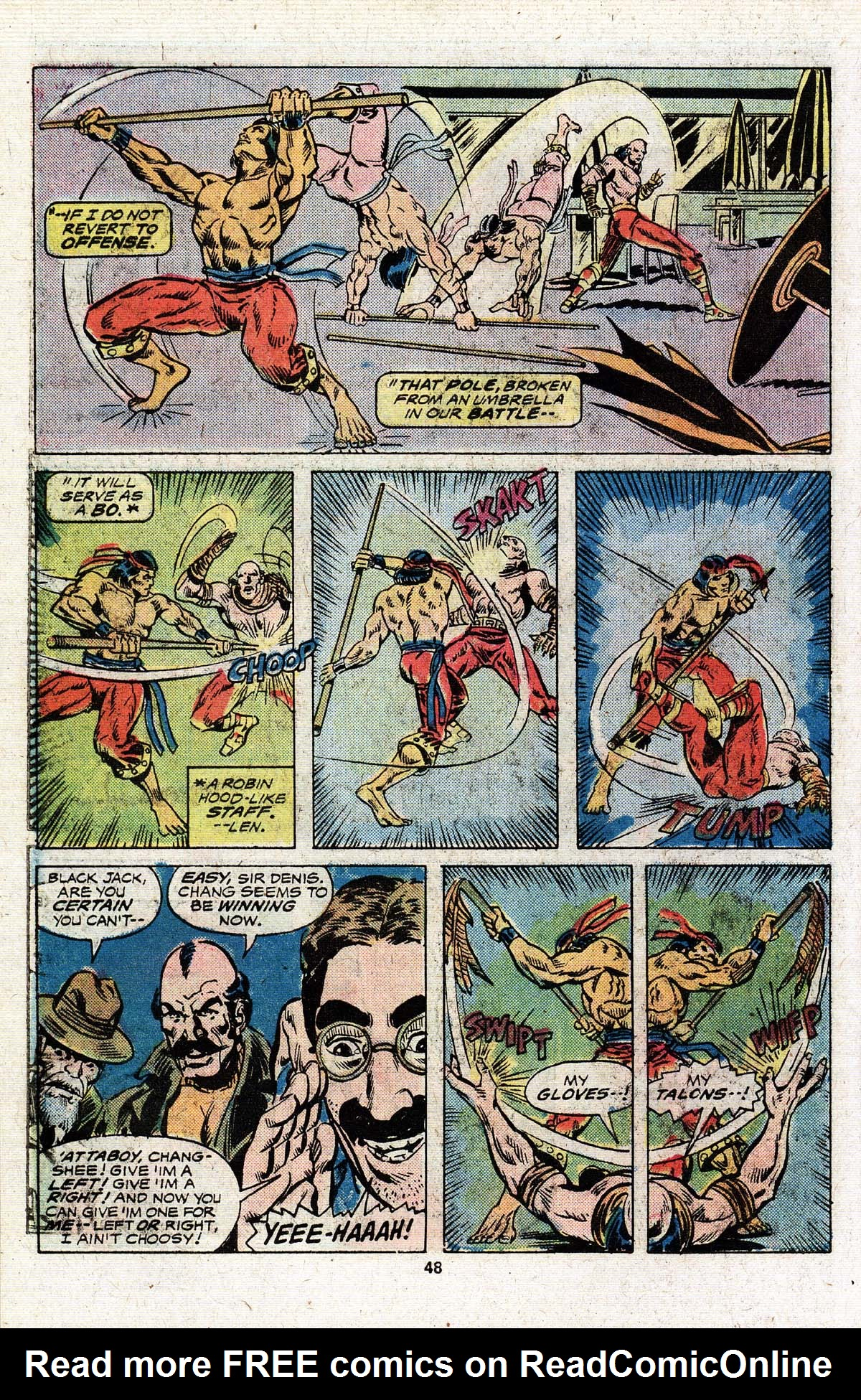 Read online Giant-Size Master of Kung Fu comic -  Issue #4 - 40