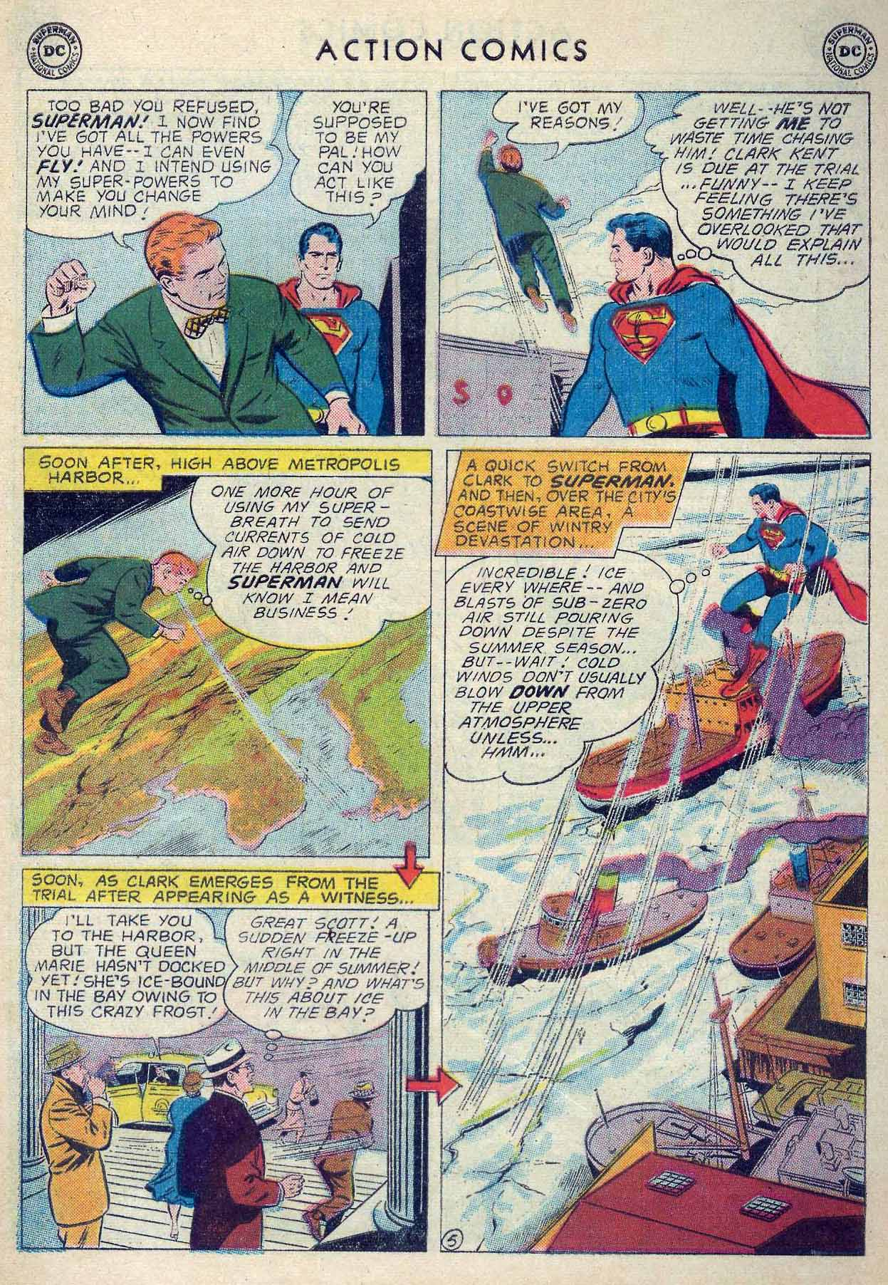 Read online Action Comics (1938) comic -  Issue #253 - 7