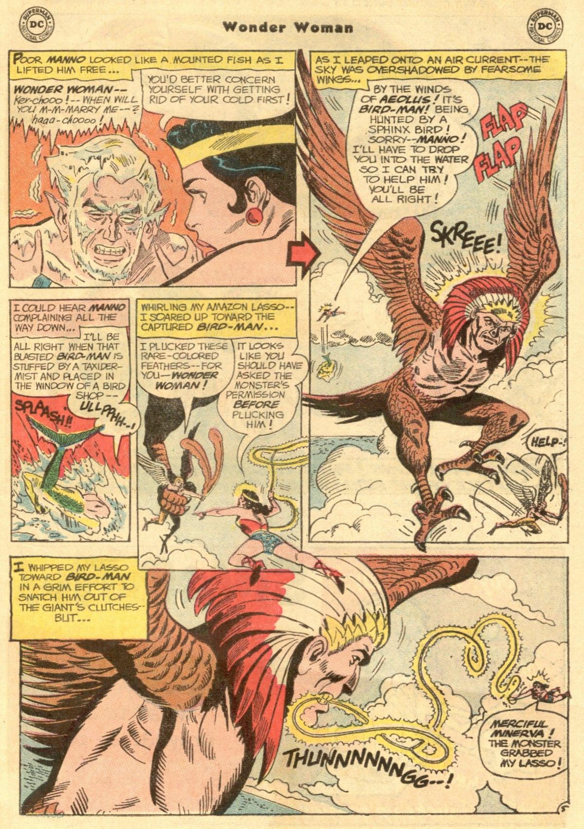 Read online Wonder Woman (1942) comic -  Issue #154 - 7
