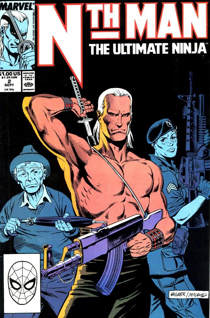 Nth Man the Ultimate Ninja 2 Page 1