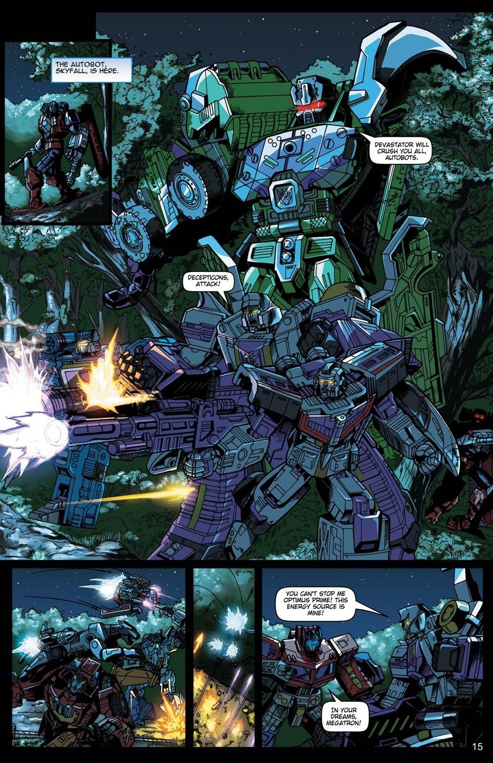 Read online Transformers: Collectors' Club comic -  Issue #15 - 15