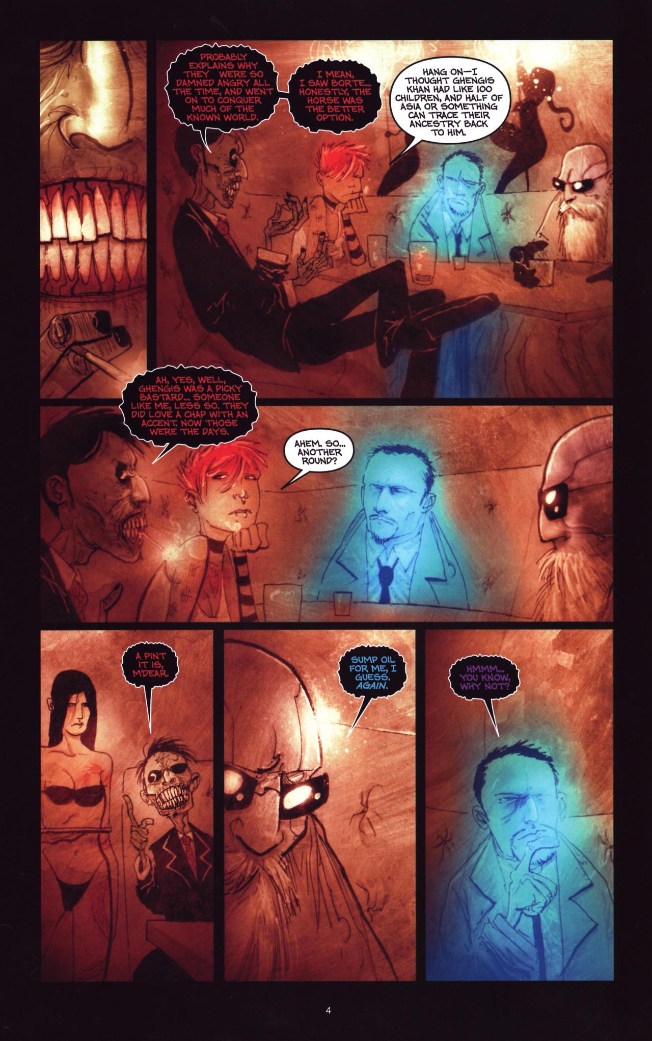 Read online Wormwood: Gentleman Corpse comic -  Issue #8 - 5