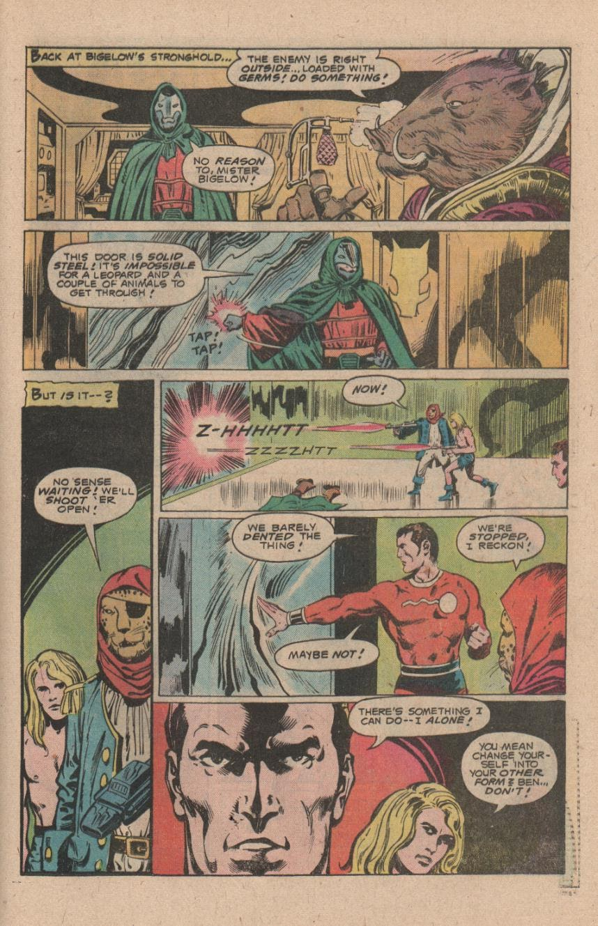 Kamandi, The Last Boy On Earth issue 47 - Page 25