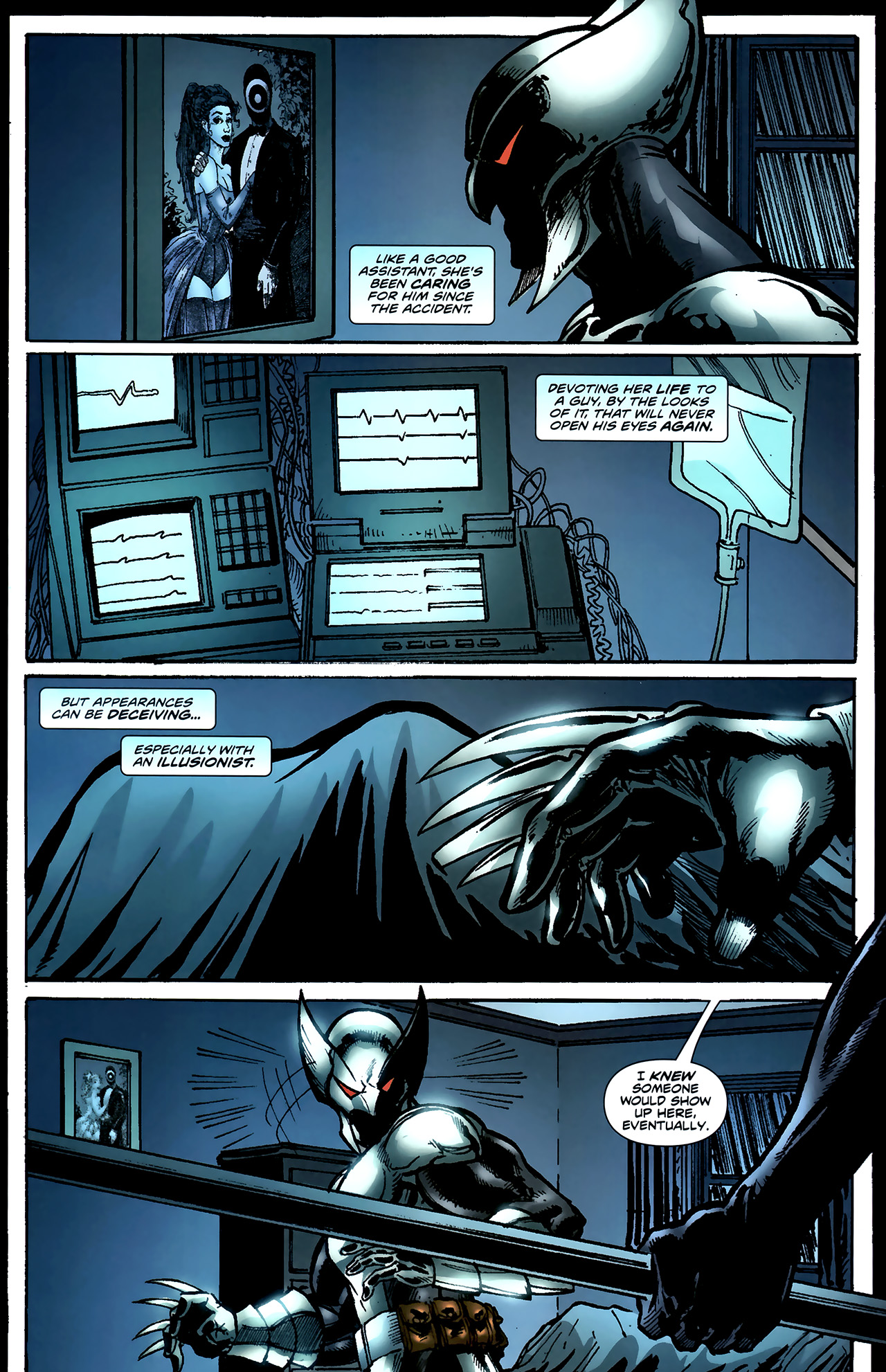 Read online ShadowHawk (2010) comic -  Issue #4 - 17