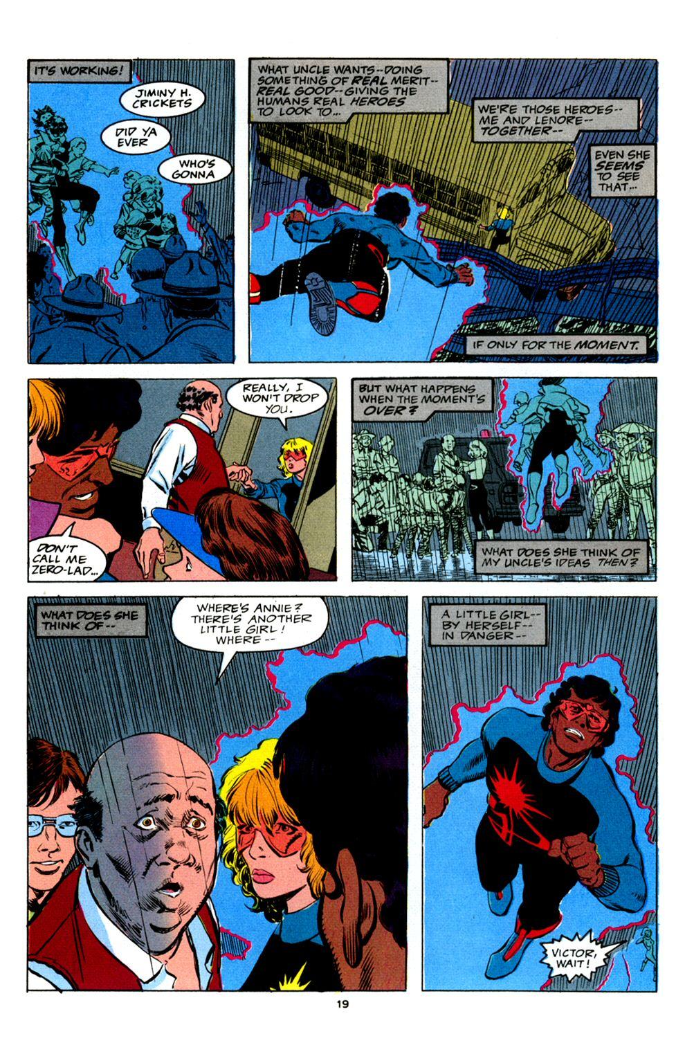 Read online Powerline comic -  Issue #2 - 21