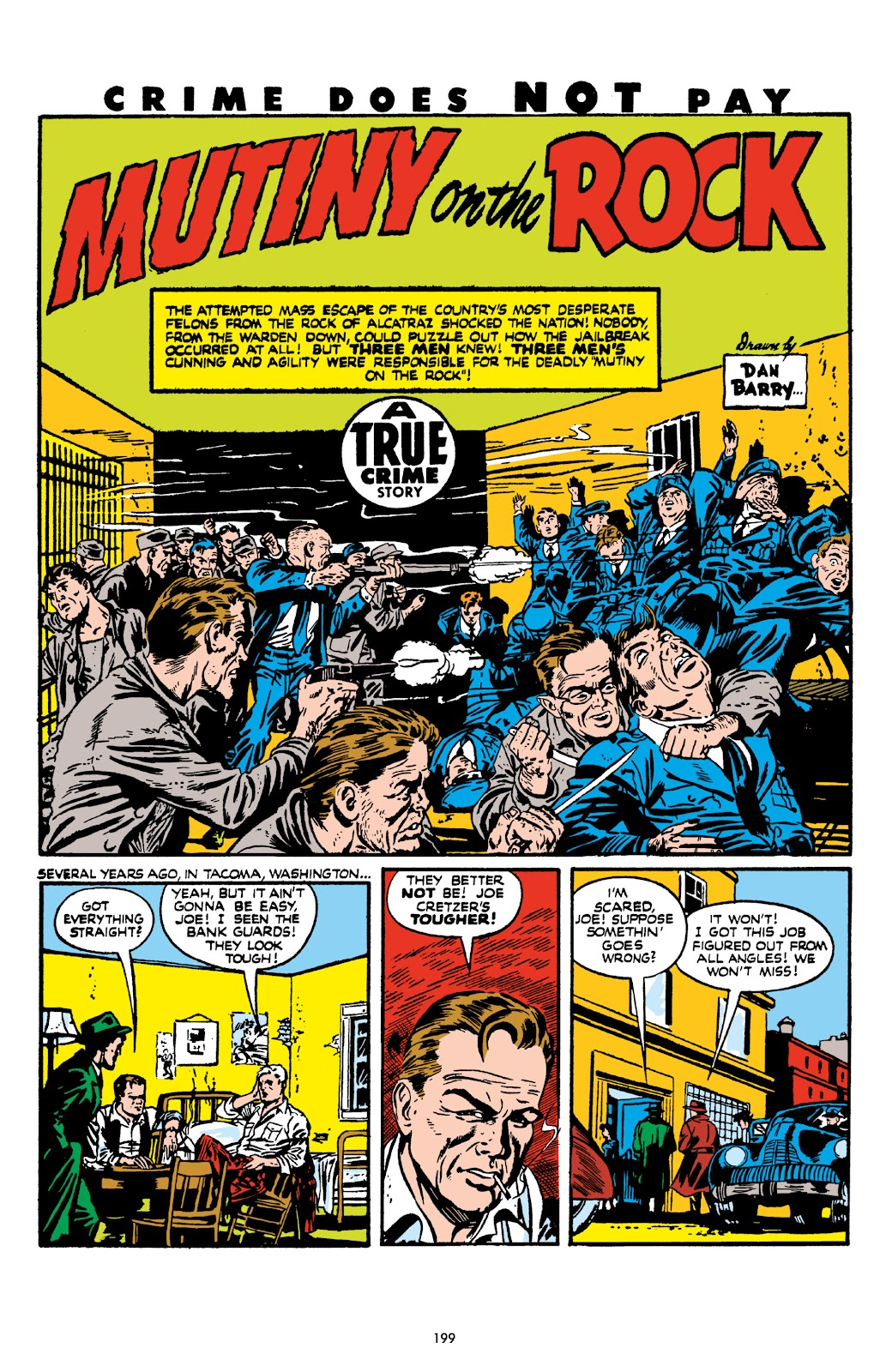 Read online Crime Does Not Pay Archives comic -  Issue # TPB 7 (Part 2) - 100