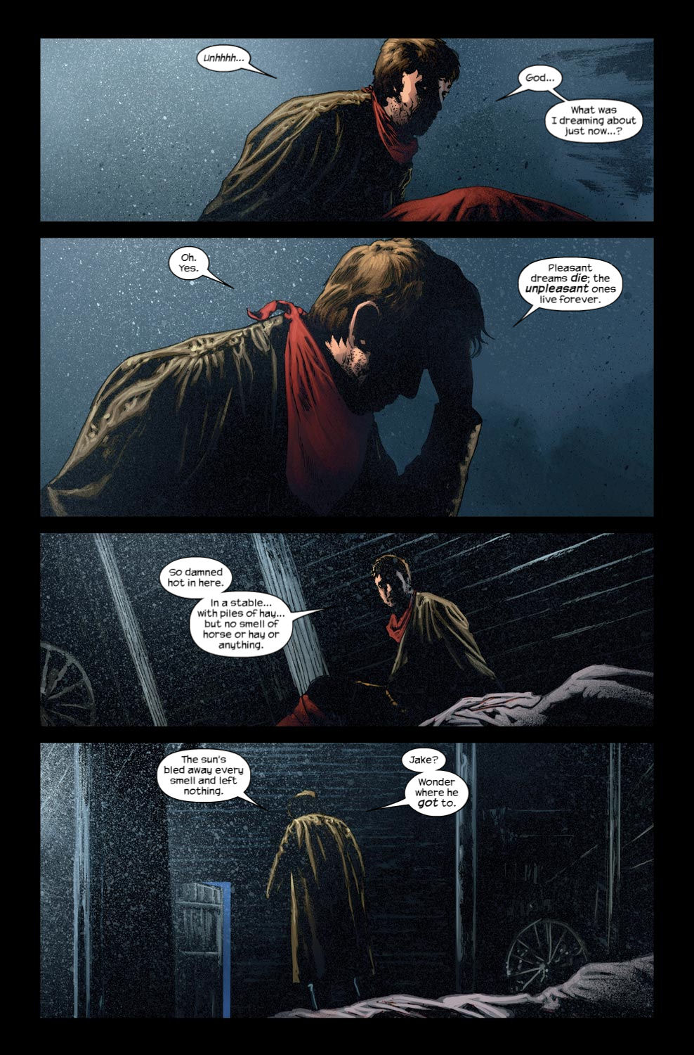 Read online Dark Tower: The Gunslinger - The Way Station comic -  Issue #3 - 6