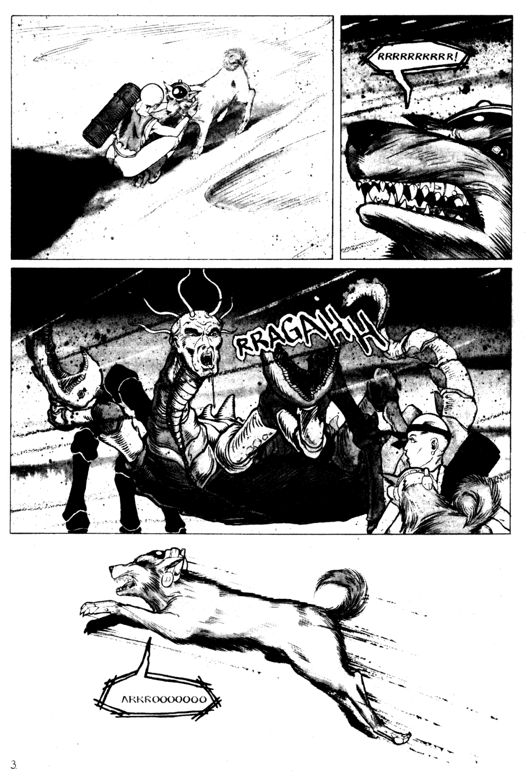 Shattered Earth issue 1 - Page 5