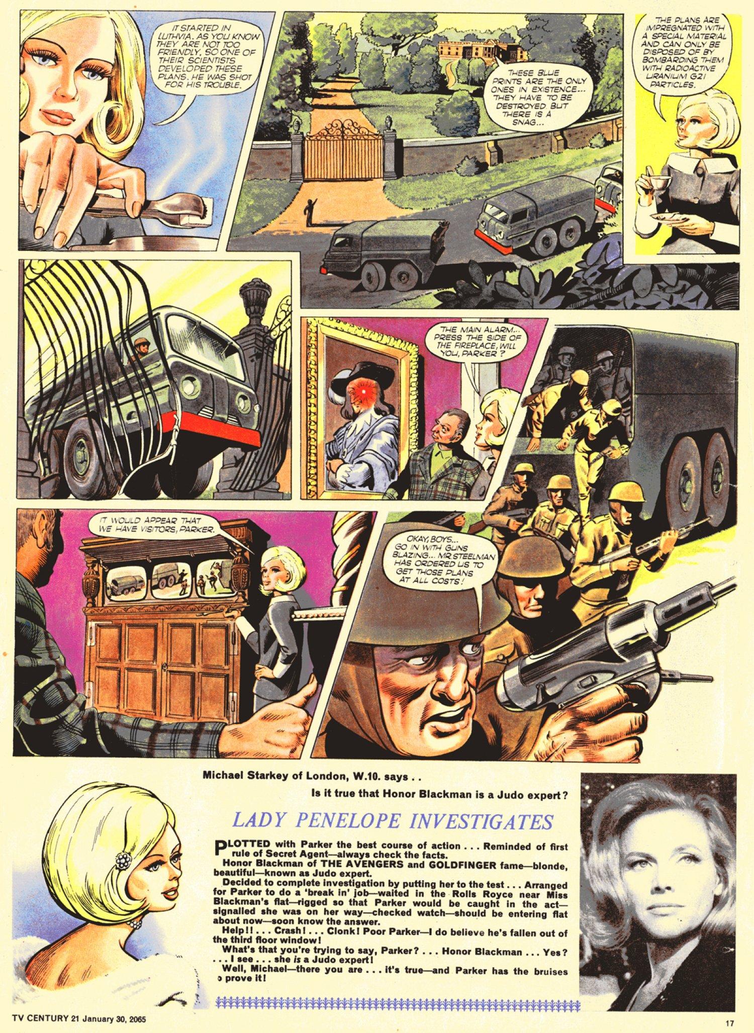 Read online TV Century 21 (TV 21) comic -  Issue #2 - 16
