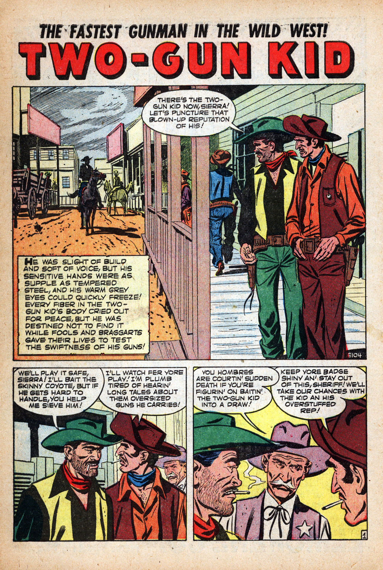 Read online Two-Gun Kid comic -  Issue #14 - 10