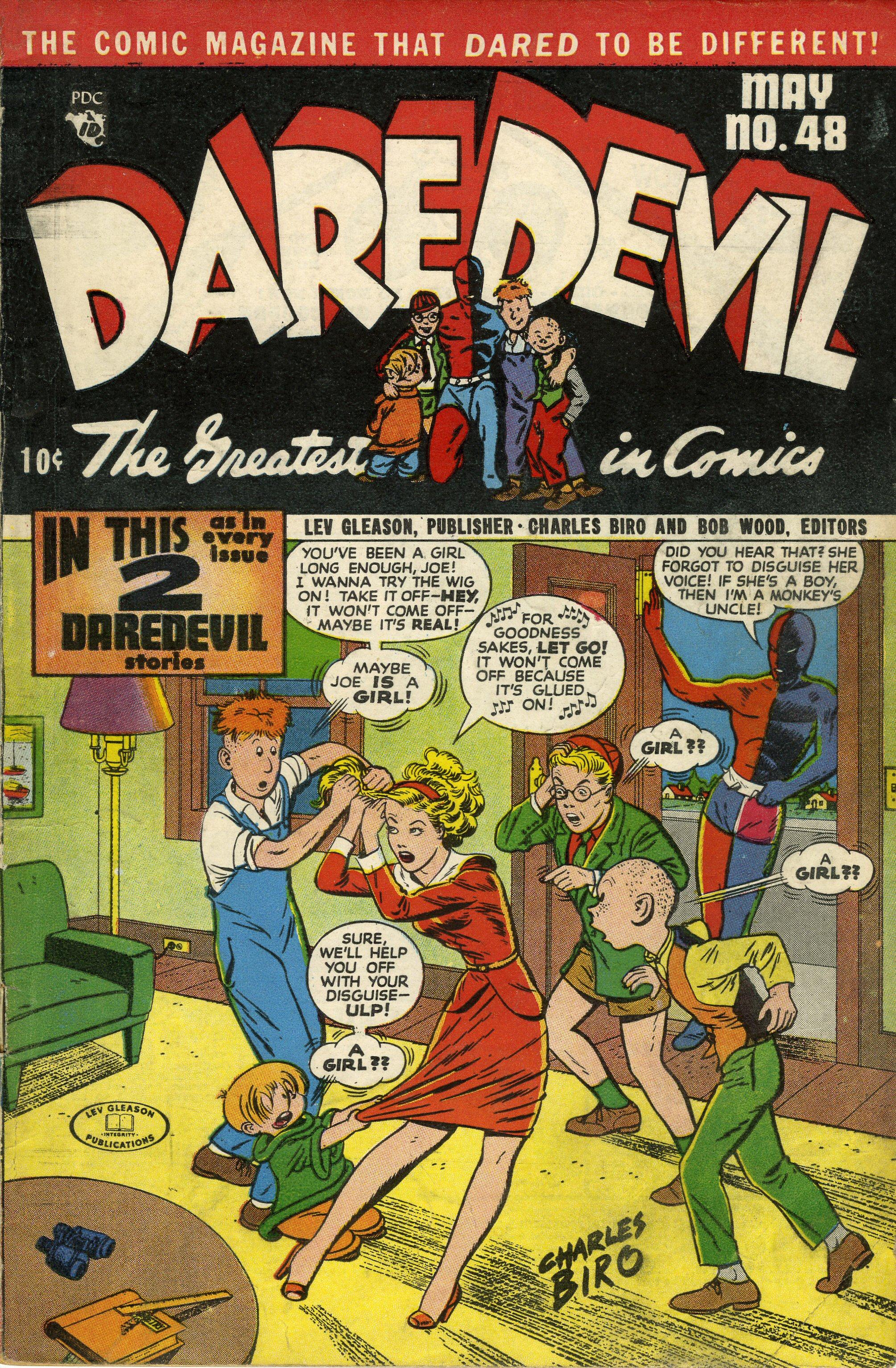 Daredevil (1941) 48 Page 1