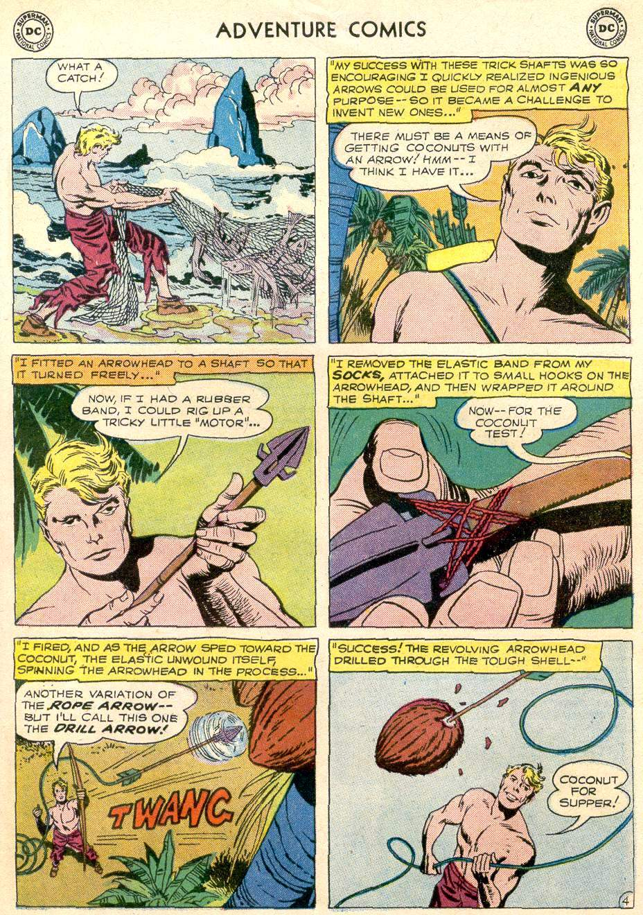Read online Adventure Comics (1938) comic -  Issue #256 - 29