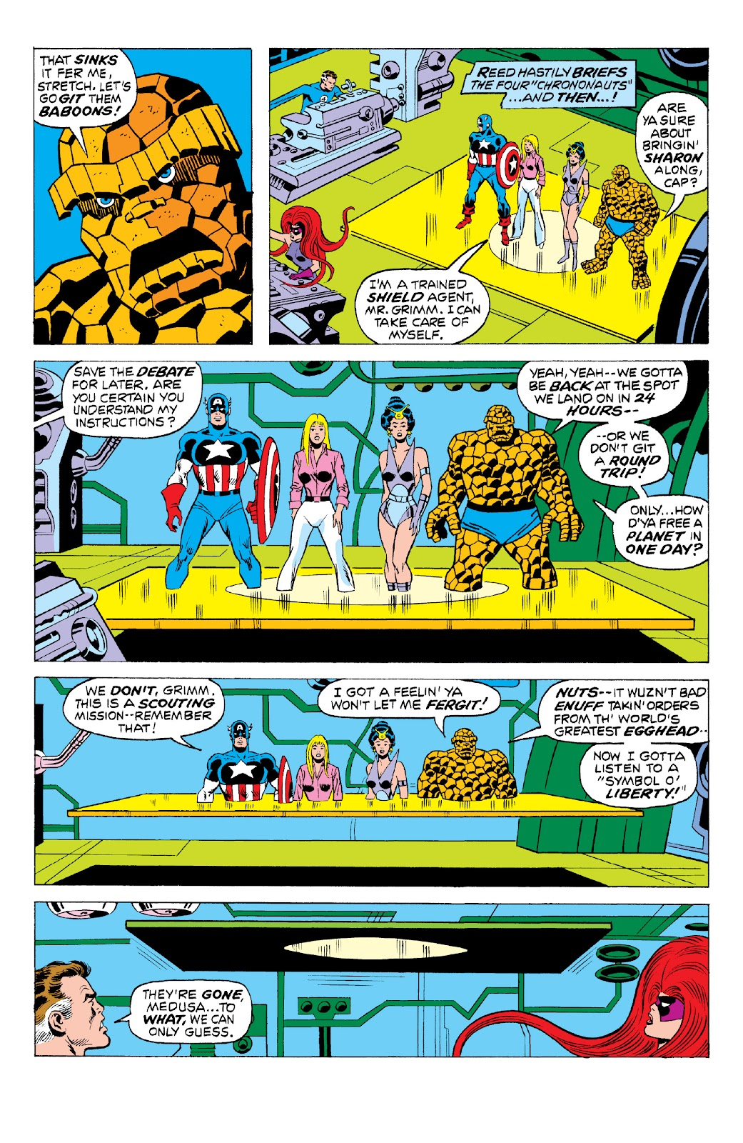 Read online Marvel Two-In-One Epic Collection: Cry Monster comic -  Issue # TPB (Part 2) - 17